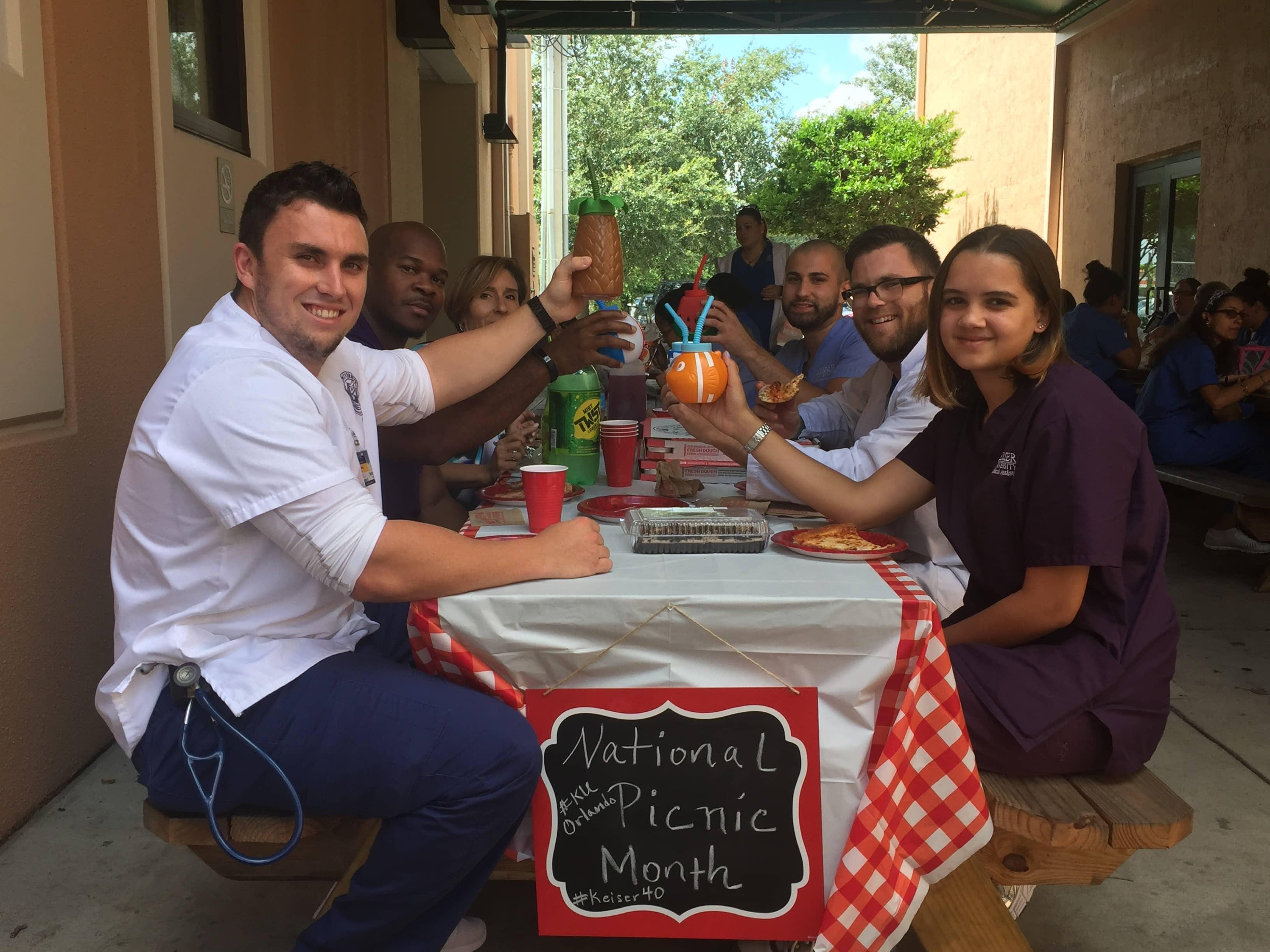Orlando Celebrates National Picnic Month
