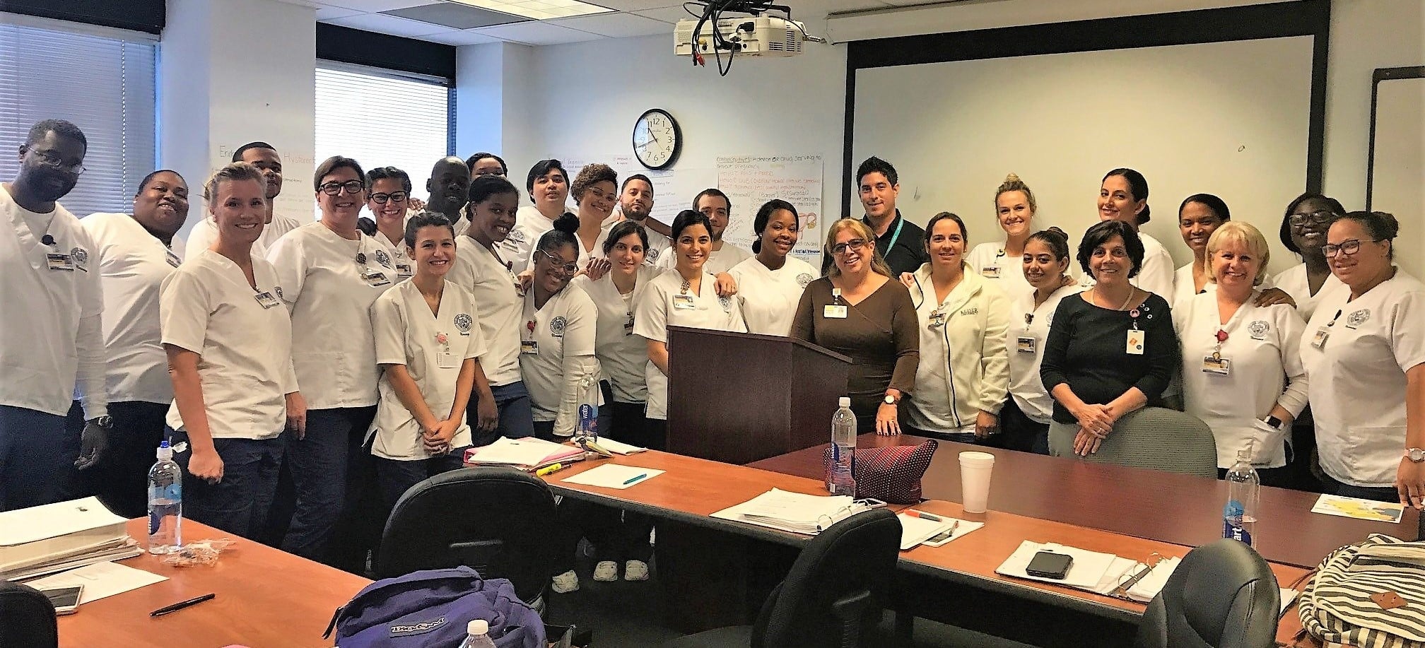 The FL Department of Health Visits the Ft. Lauderdale Campus