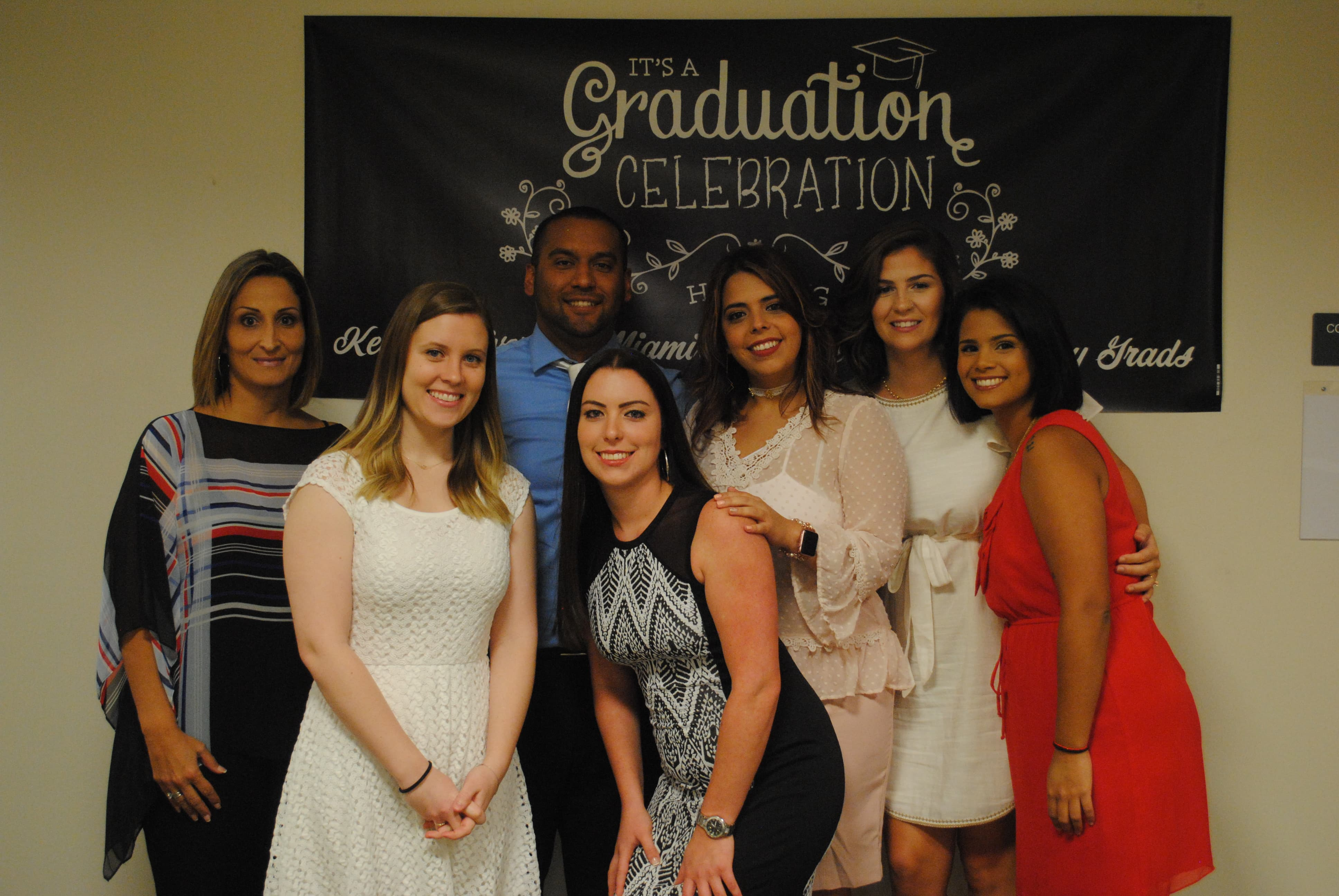 RT Students from Miami Campus Attend Their Pinning Ceremony