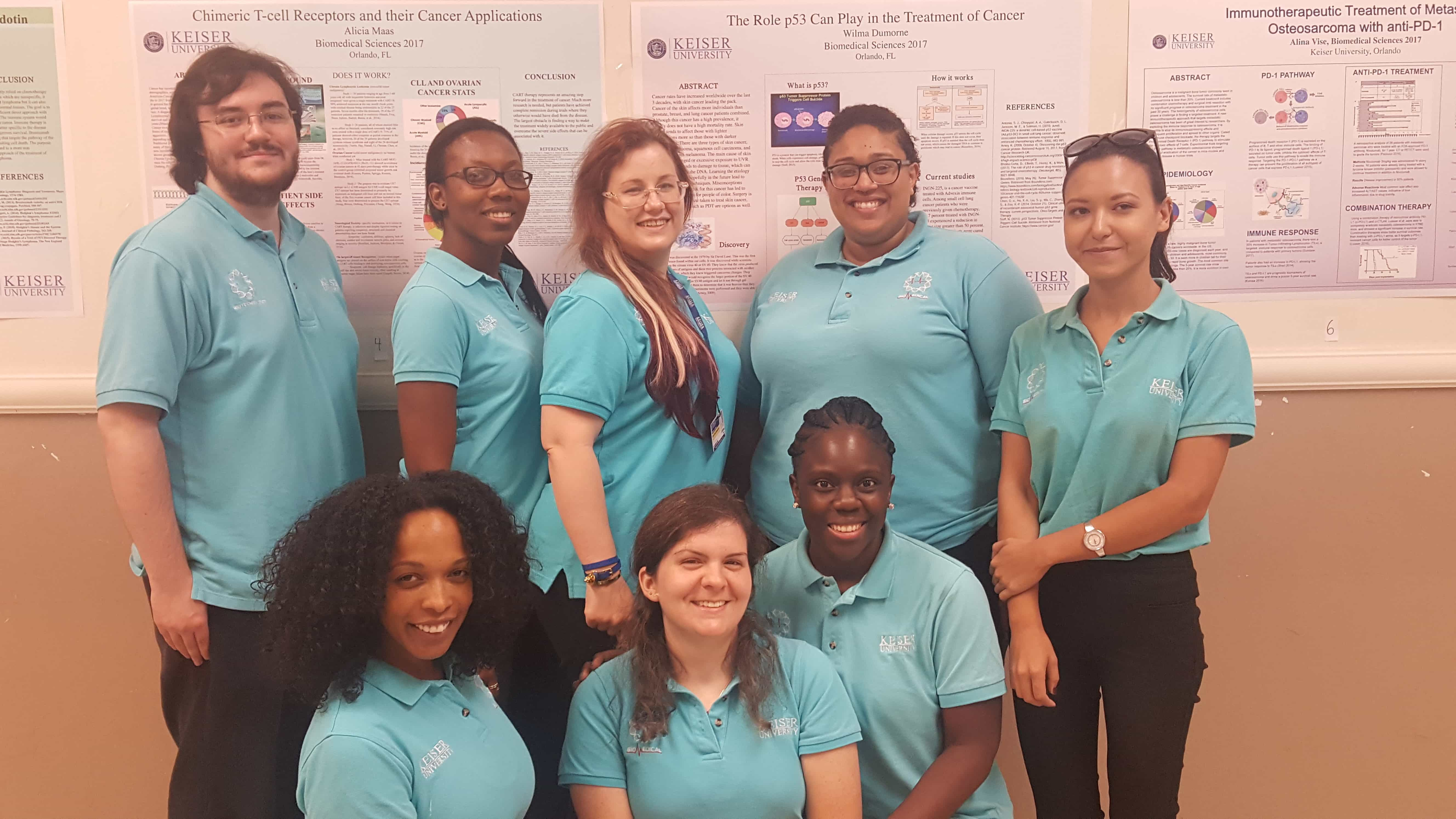 Orlando Biomedical Sciences Students Make Presentations