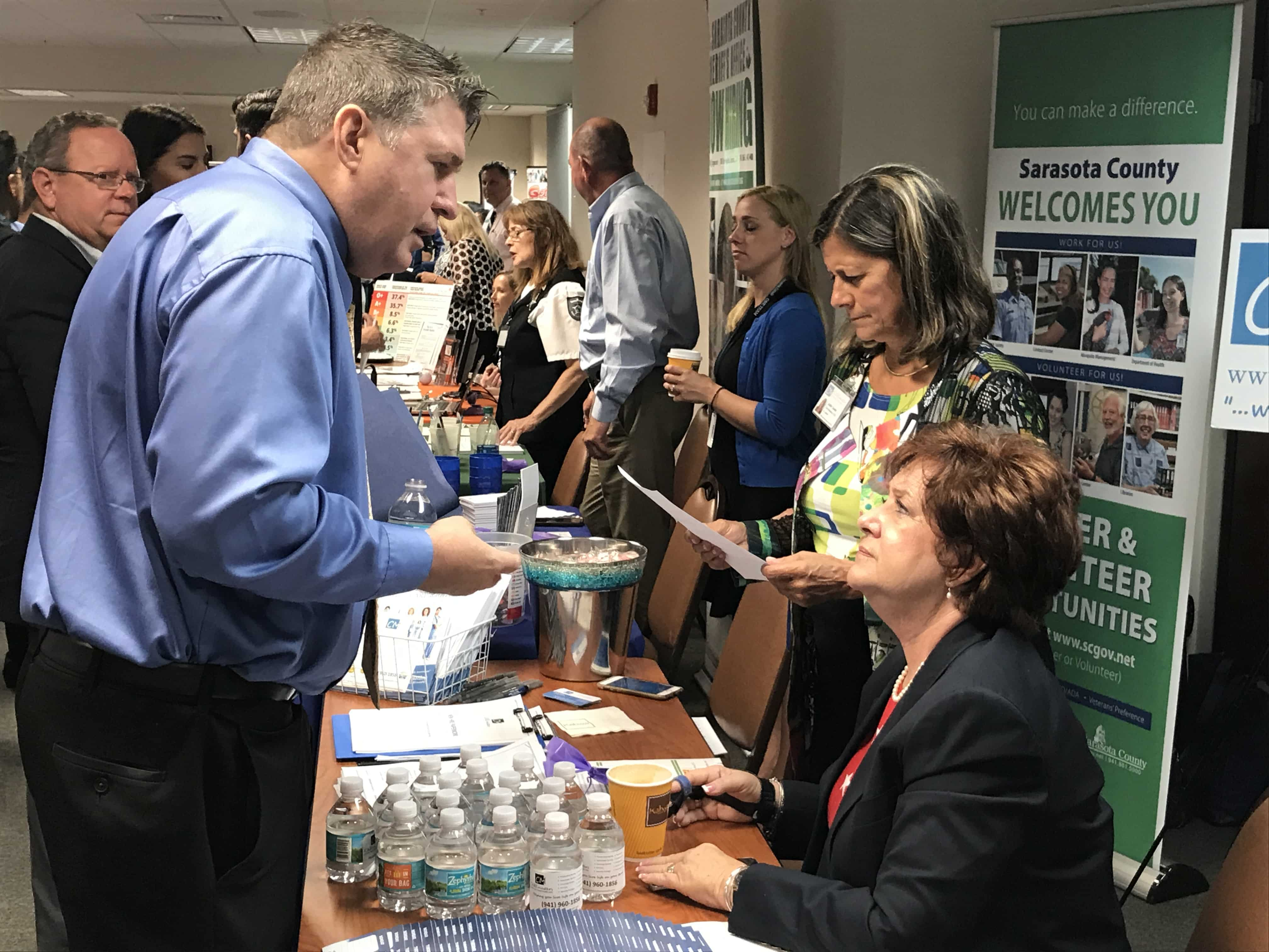 Sarasota Held a Two-Day Career Fair with Over 100 Employers