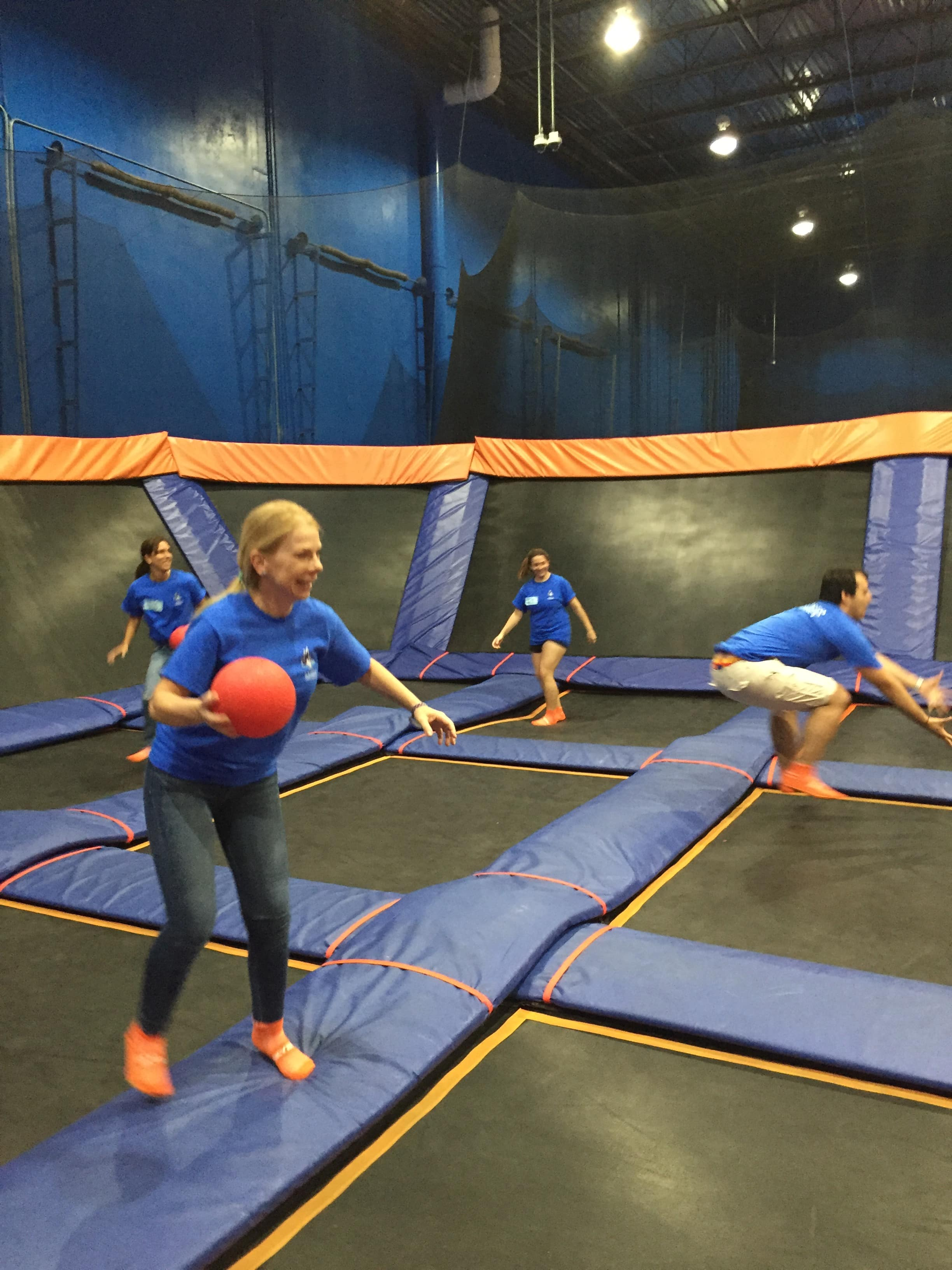 Ft. Lauderdale Participates in the Sky Zone S.O.S. Kid's Party