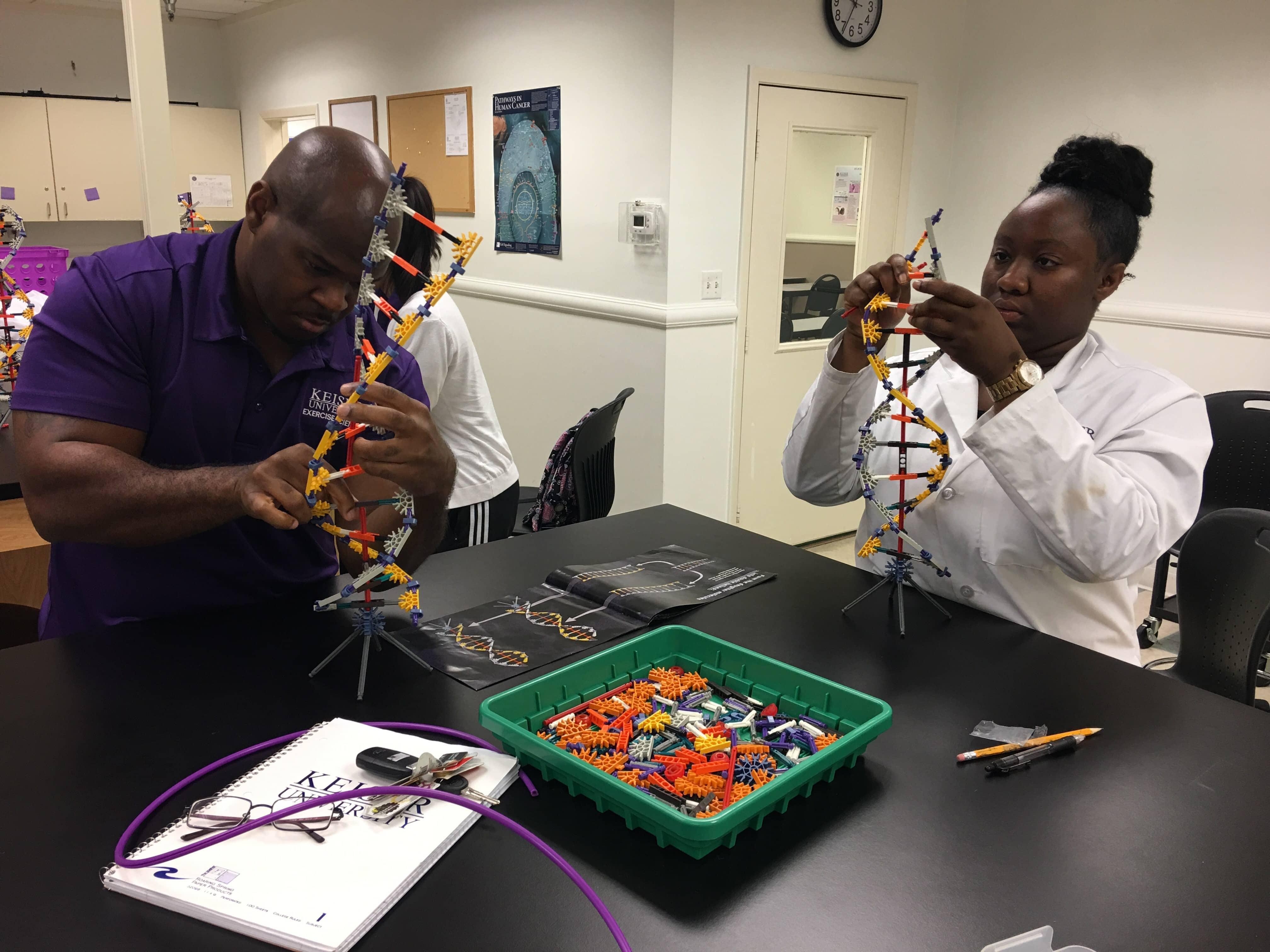 Orlando Students Explore DNA