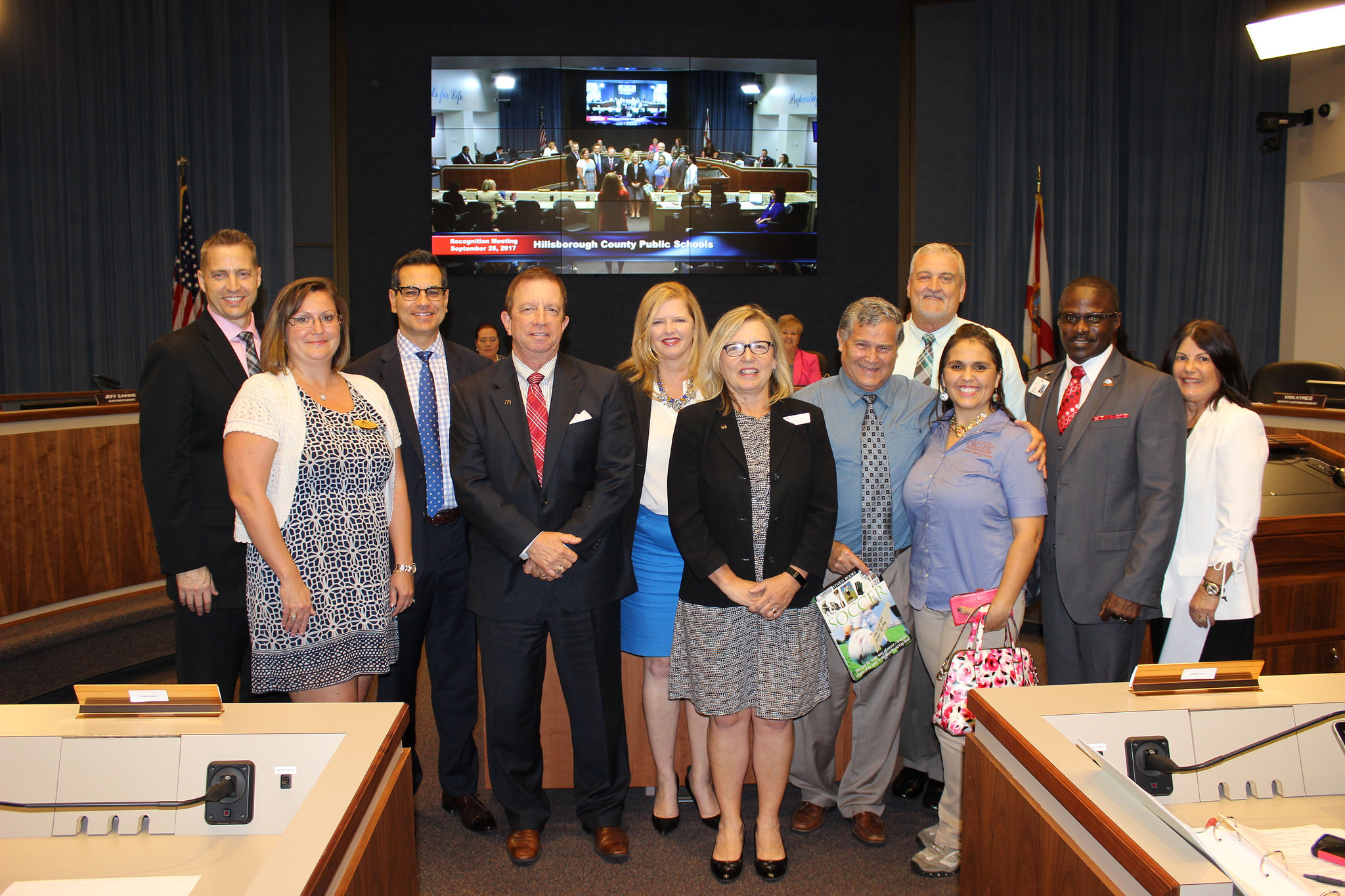 Tampa Campus Recognized by the Hillsborough County School Board