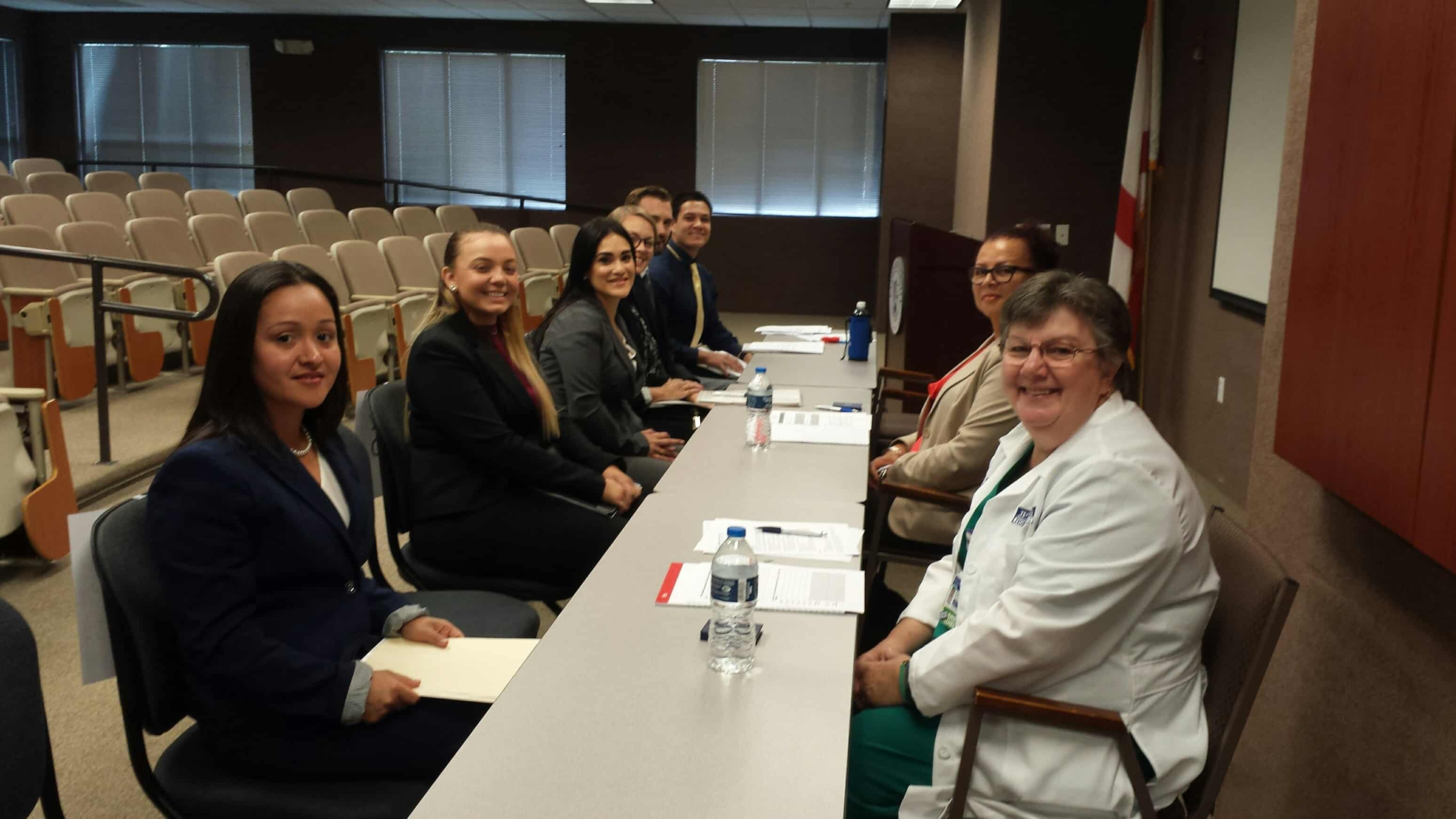 Nursing Students Participate in Mock Interviews