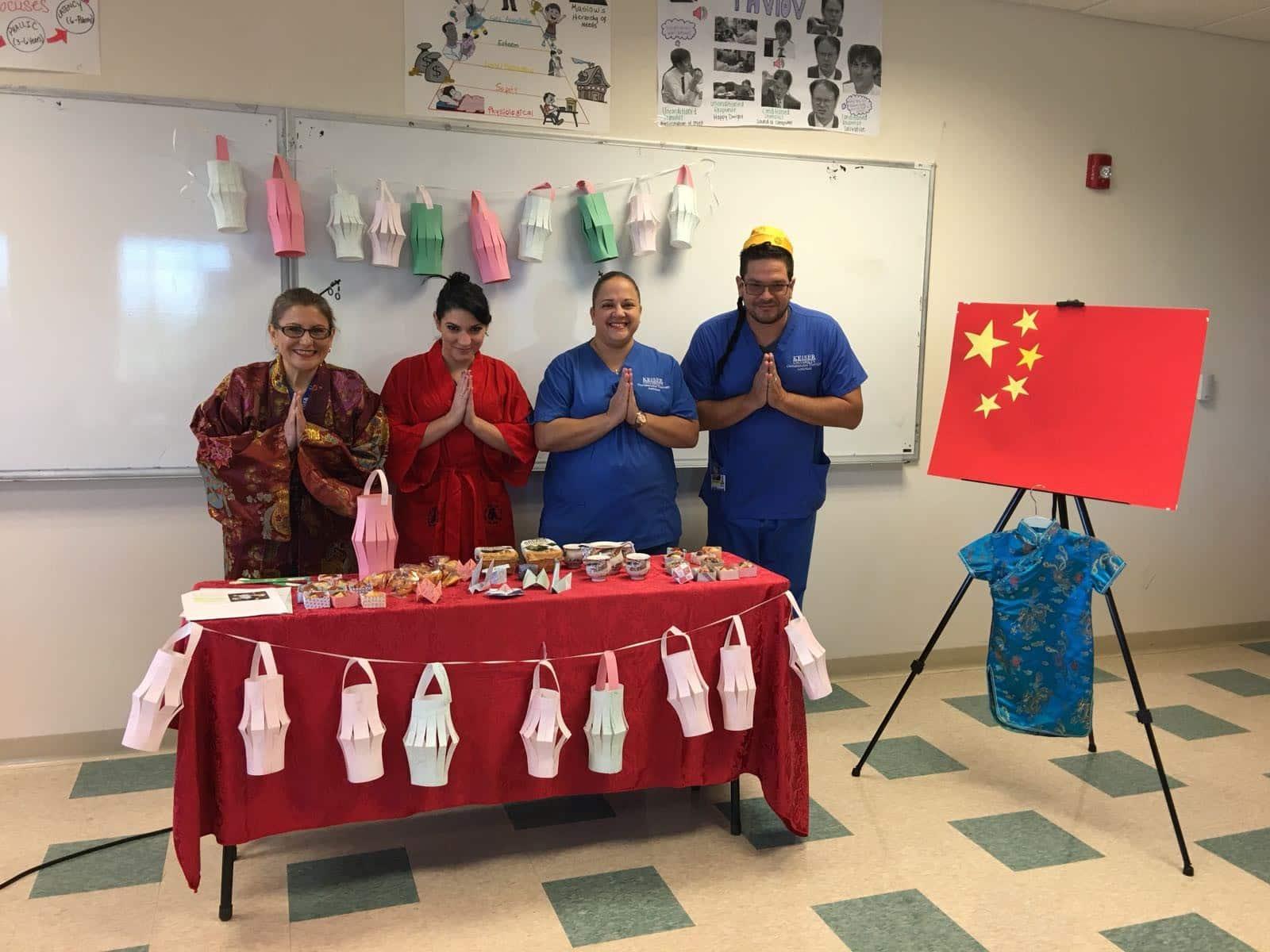 OTA Students Participate in a Cultural Fair