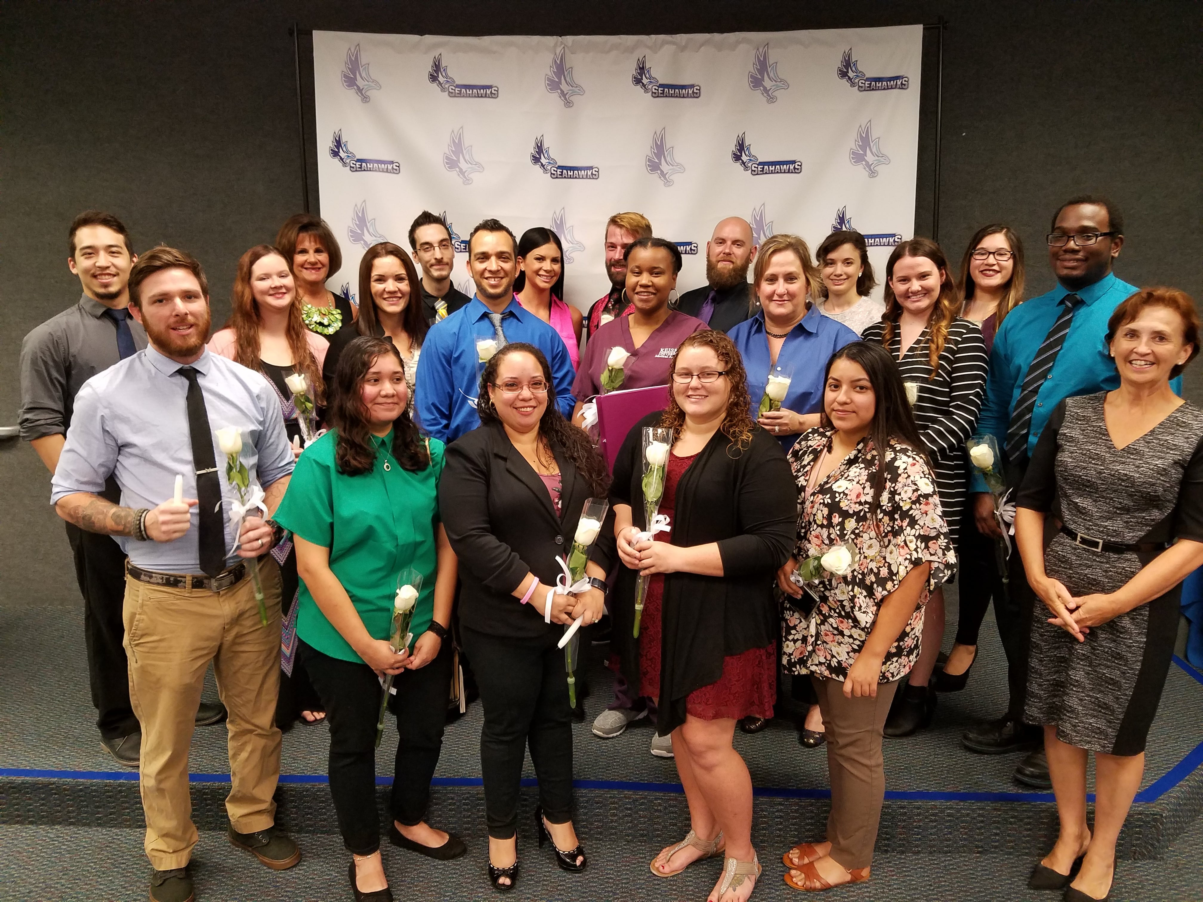 Inductee Record Shattered for Phi Theta Kappa Honor Society at Fort Myers Campus