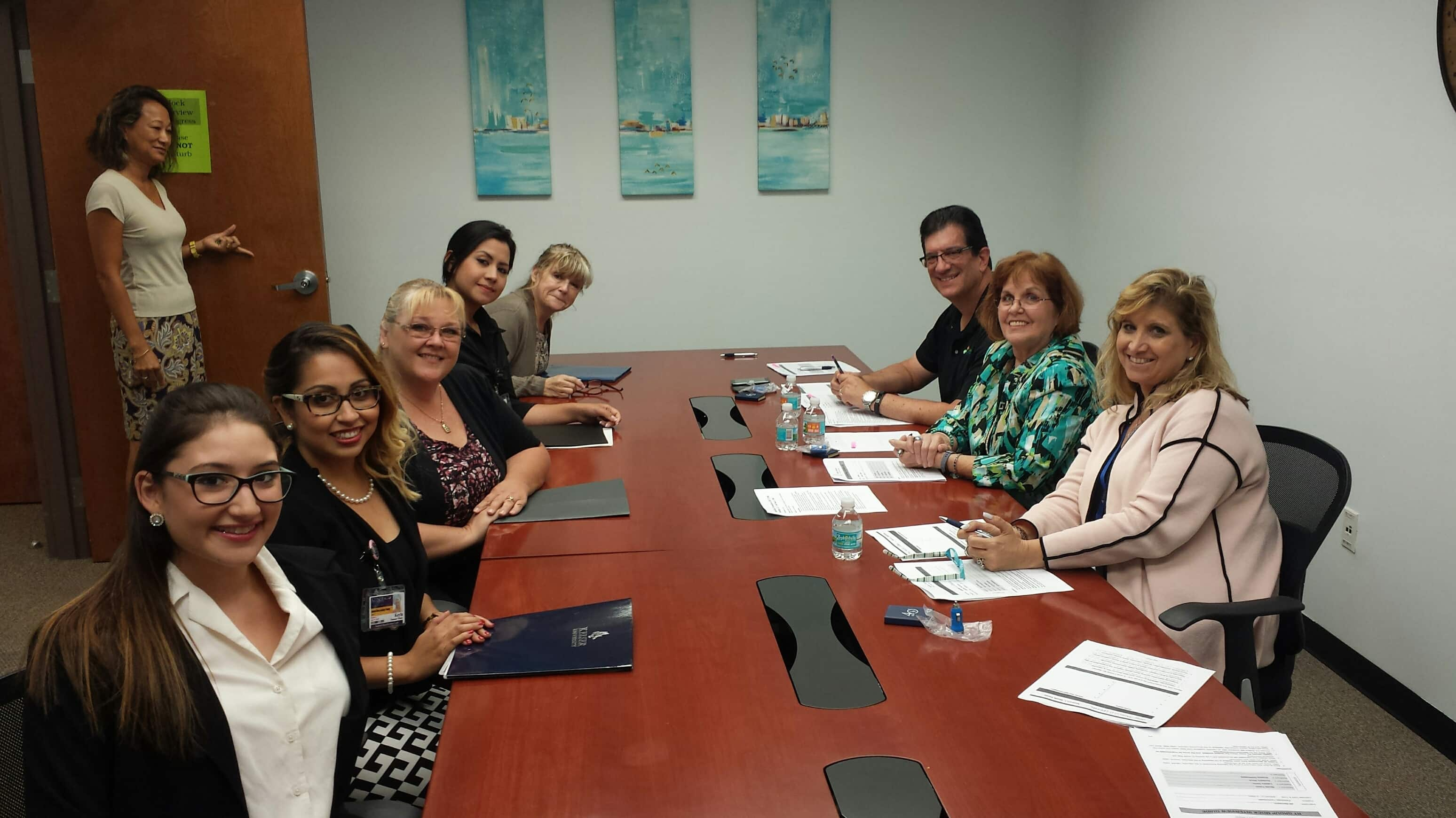 The West Palm Beach Campus Hosts Mock Interviews