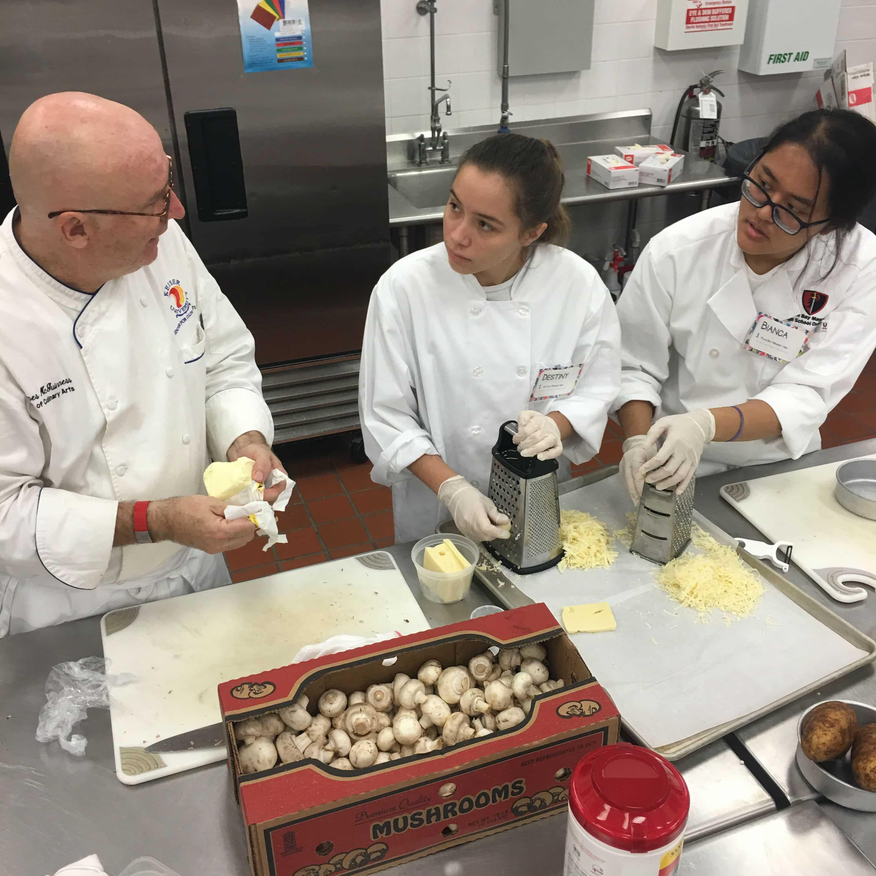 Melbourne Center for Culinary Arts Holds ProStart Regional Workshop
