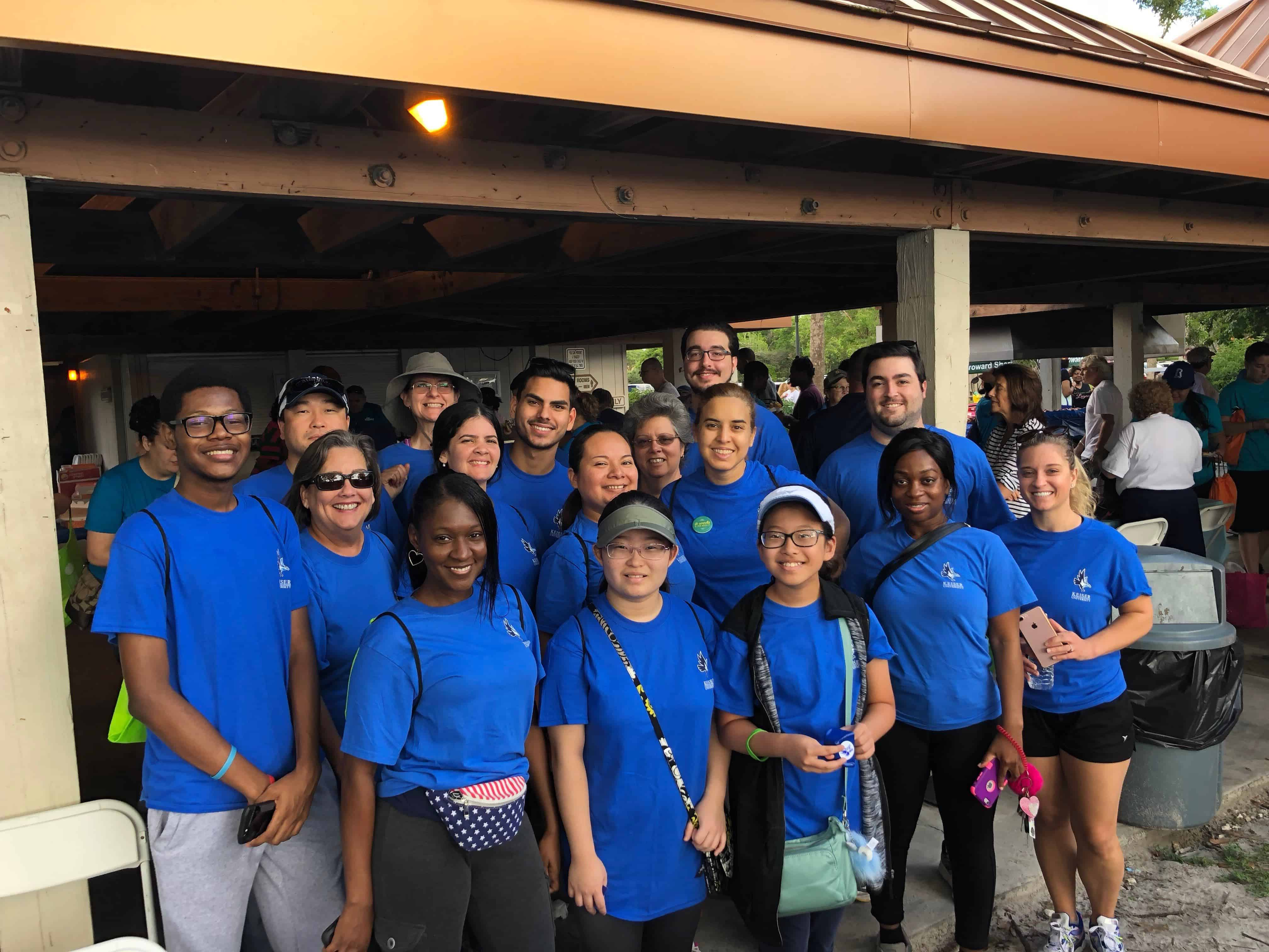 Graduate School Participates in National Alliance for Mental Illness Walk
