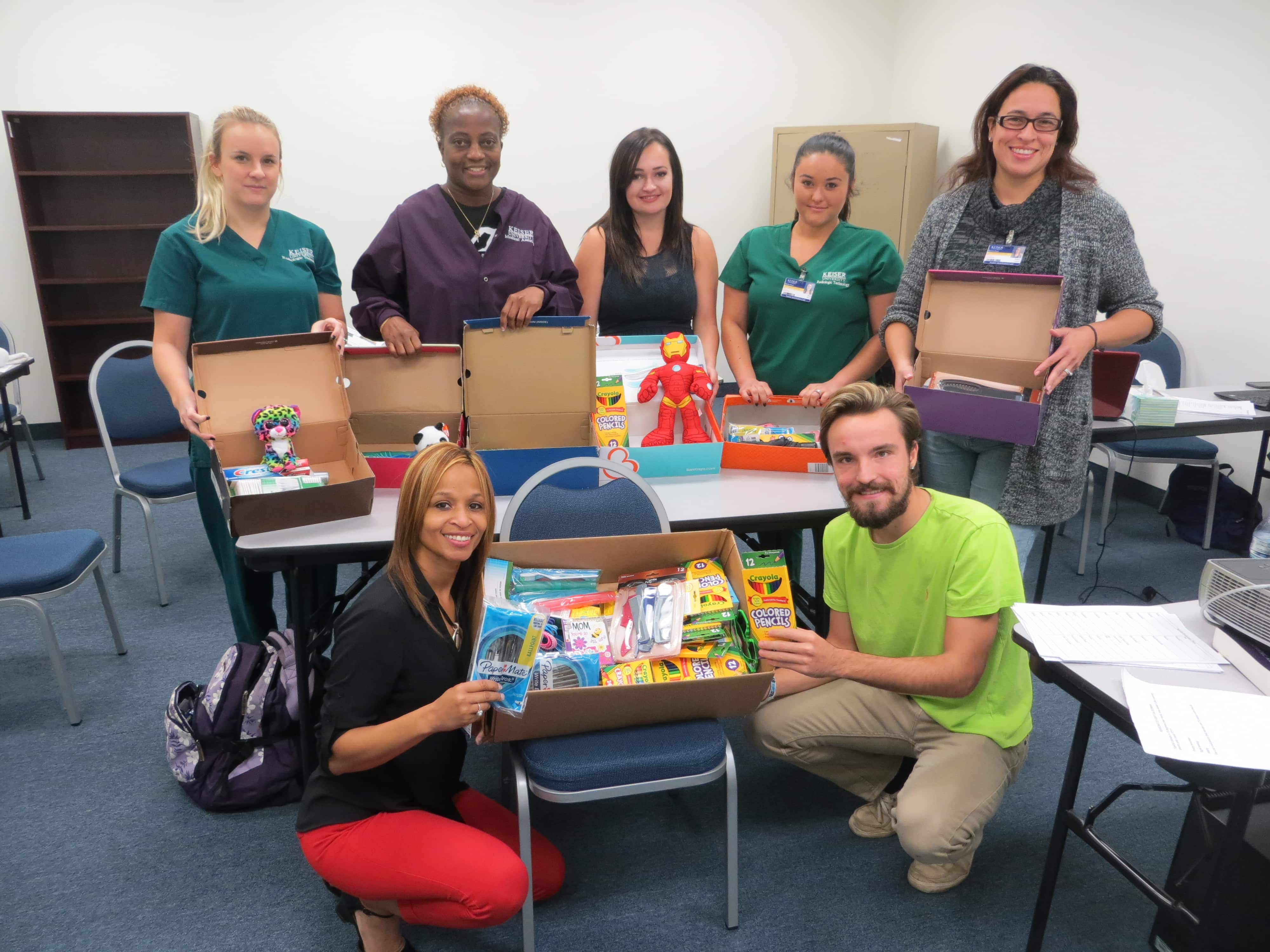 Daytona Beach Donates to Operation Christmas Child