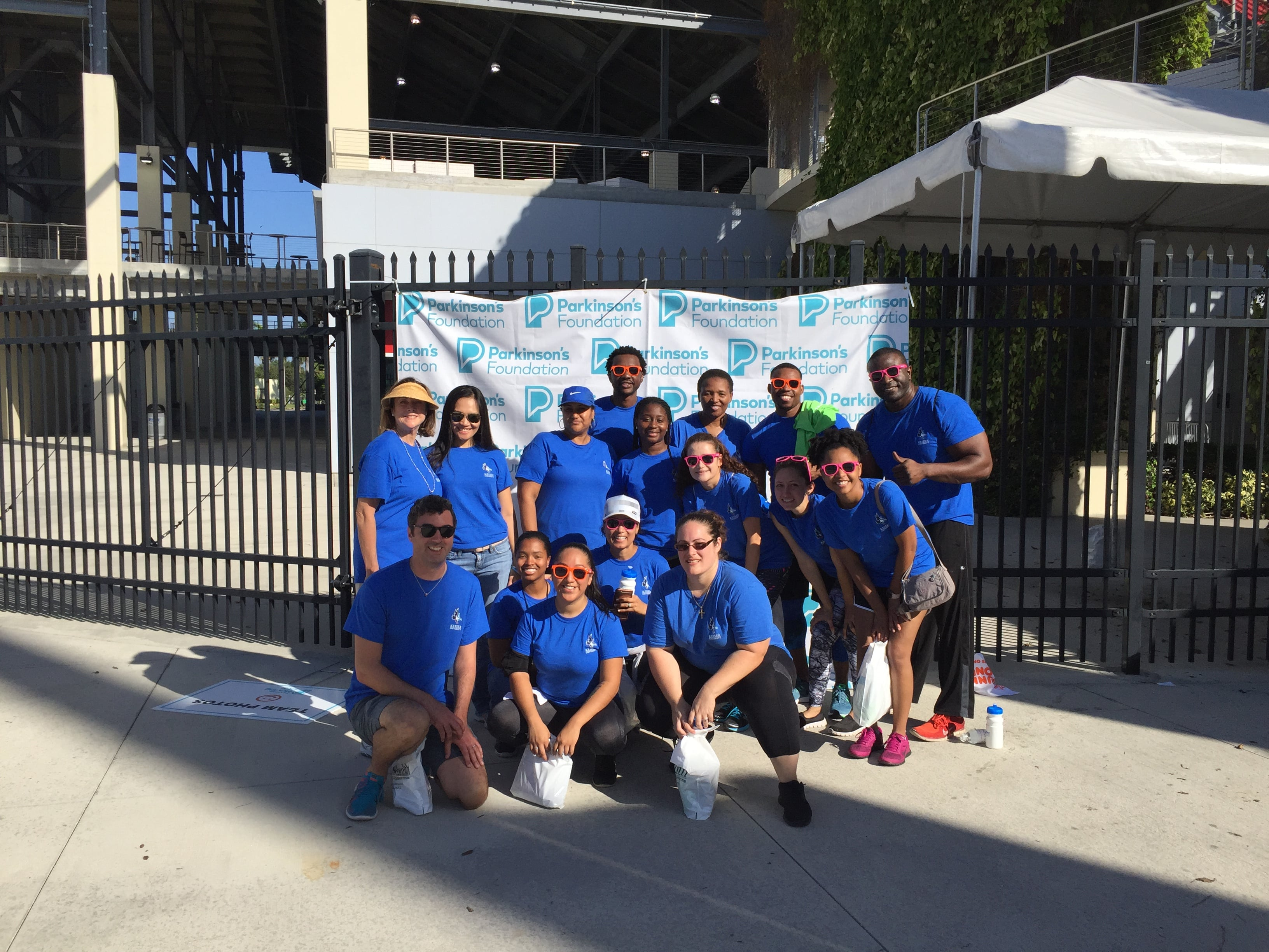 "Ft. Lauderdale Students and Faculty Participate in ""Parkinson's Get Moving Day"""