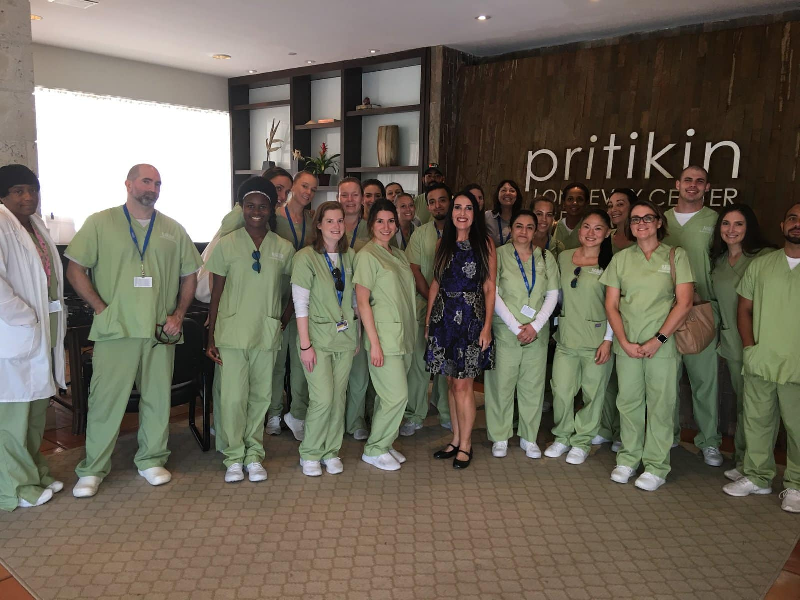 Pembroke Pines D&N Students Visit Pritikin Center