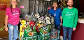 SPCA donations Nov. 2017 (1)