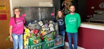 SPCA donations Nov. 2017 (2)