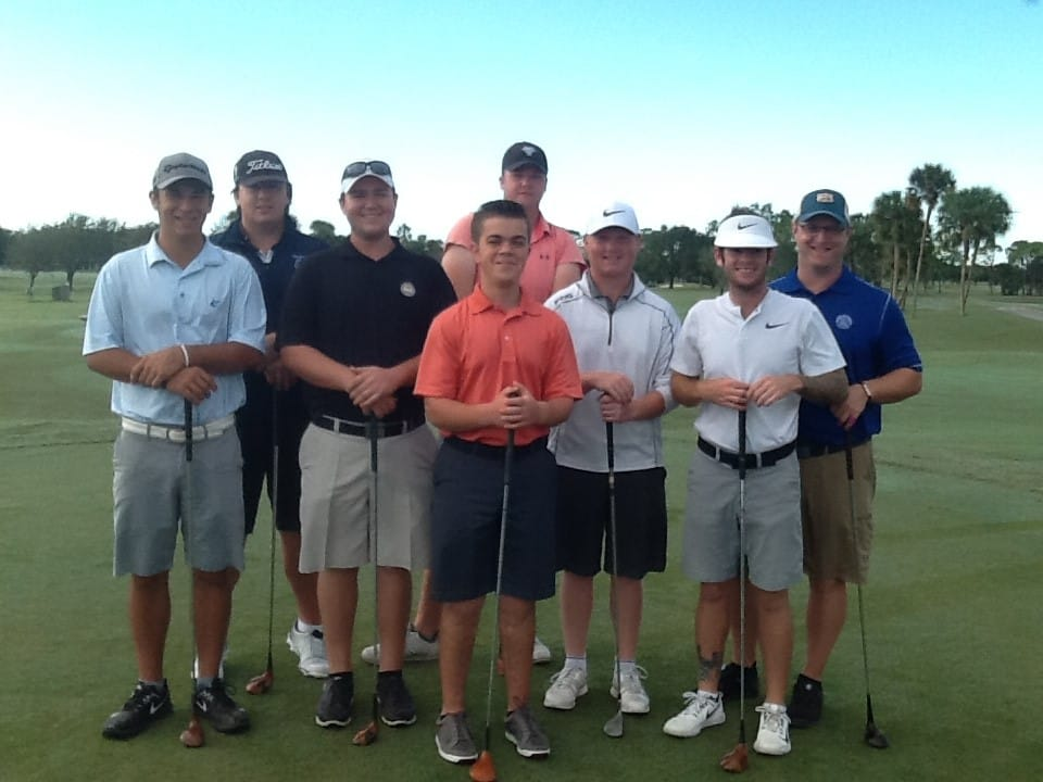 College of Golf Students Play Persimmon Woods and Blade Golf Clubs