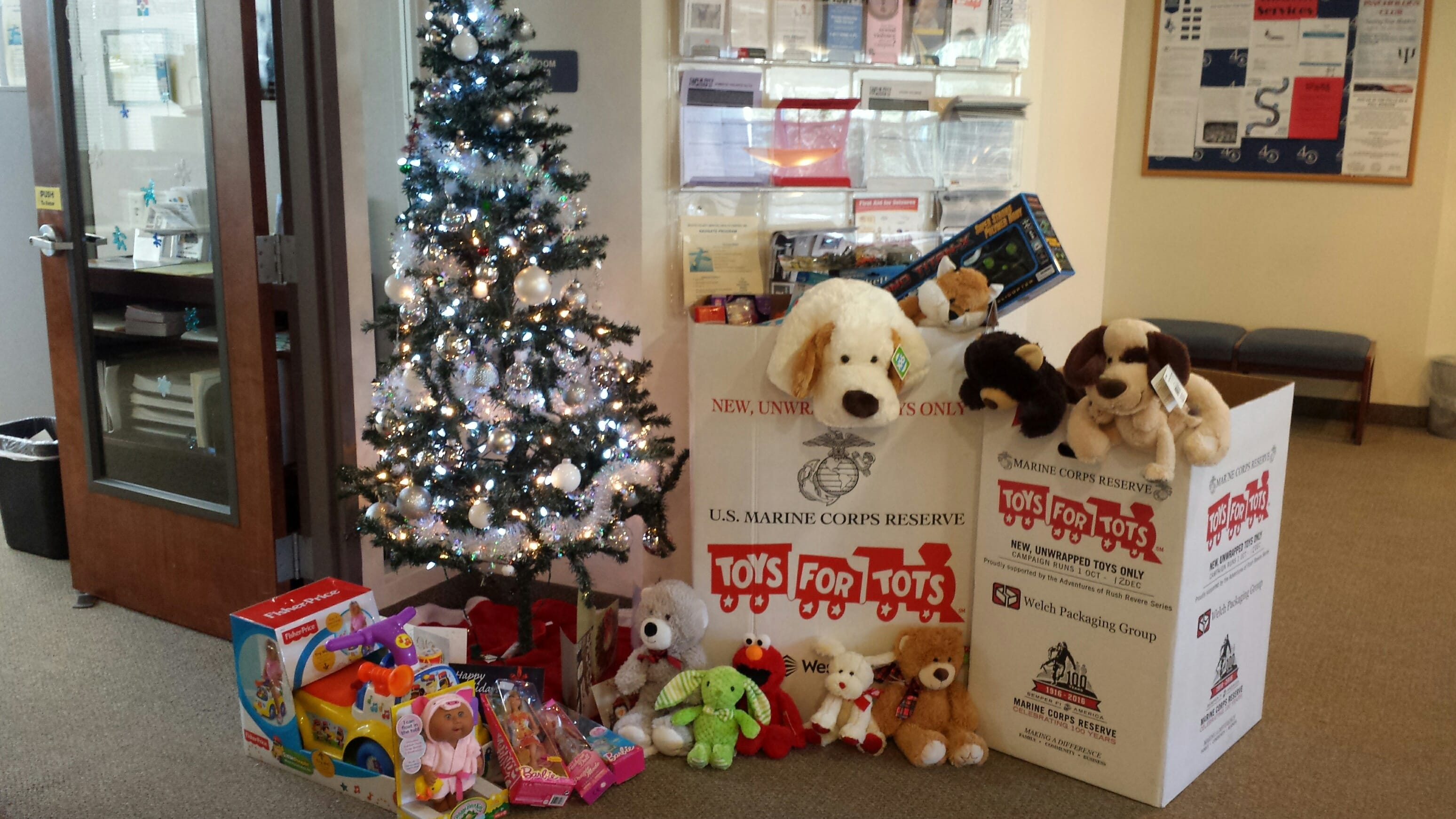 West Palm Beach Collects Toys for Tots with Interim Healthcare
