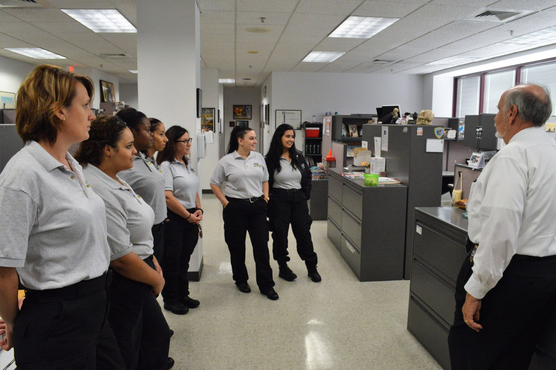 CST Students Visit West Palm Beach Police Department Crime Scene Unit