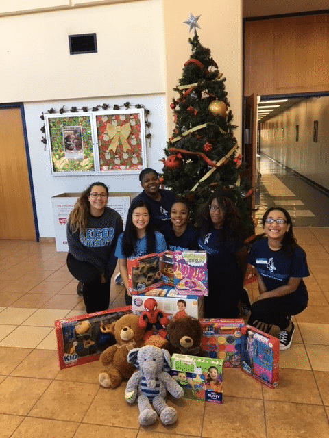 SGA at the Flagship Campus Raises Funds for Toys for Tots