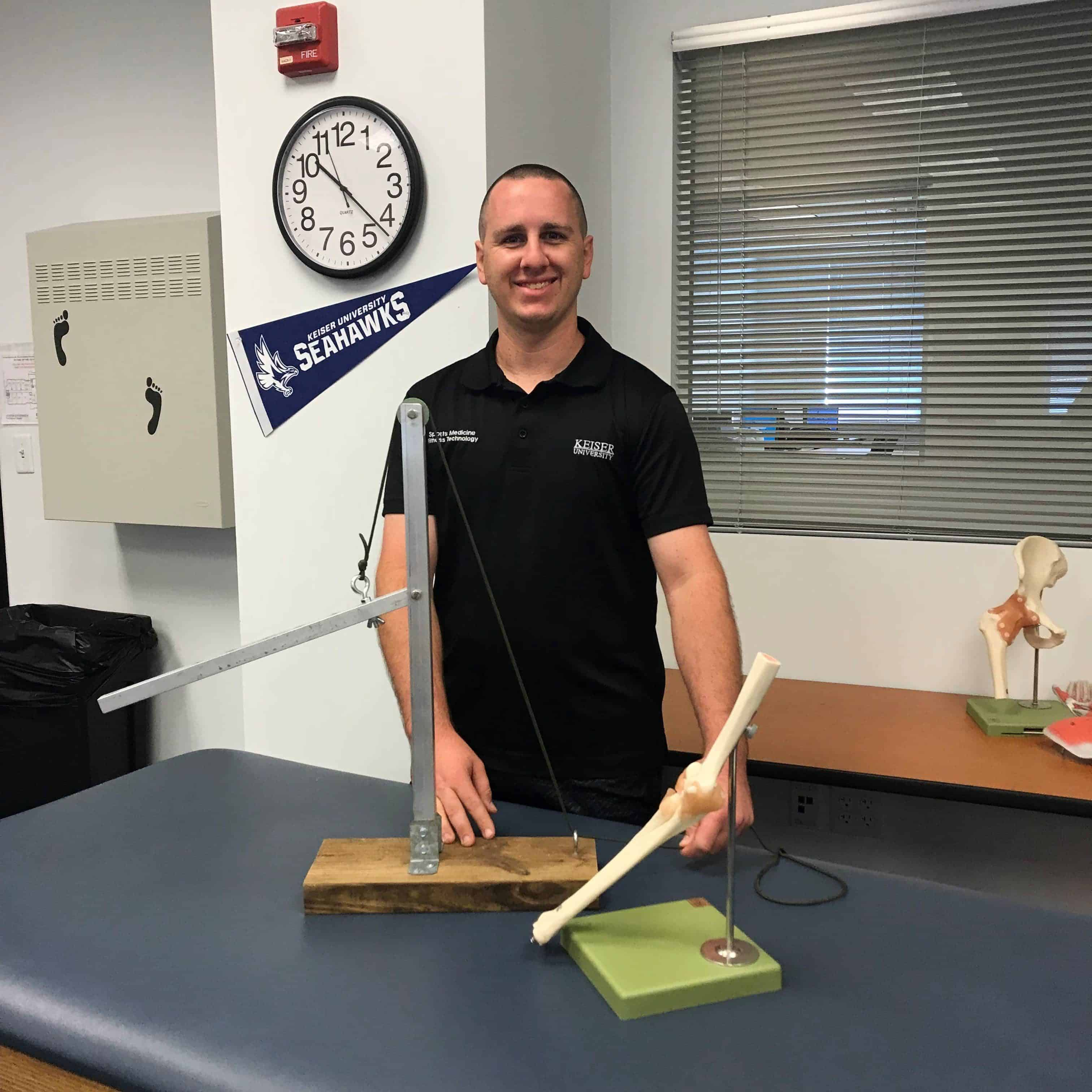 Kinesiology Meets Mechanical Construction at the Fort Myers Campus
