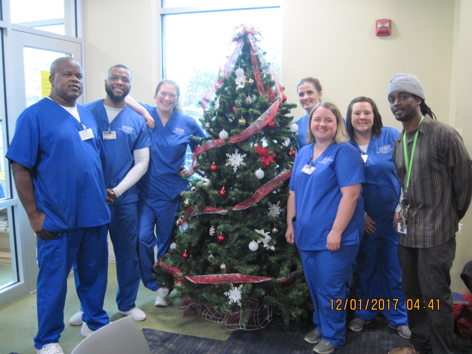 Tallahassee OTA Students Help Spread the Holiday Spirit