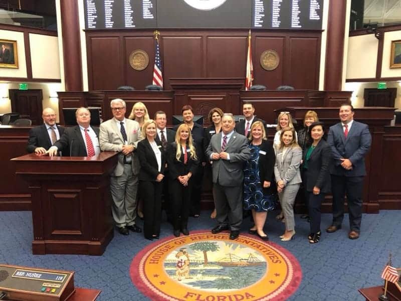 Keiser University Campus Presidents Enjoy 'Day on the Hill'