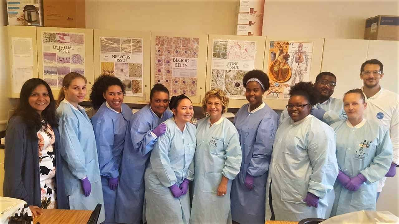 Keiser University Orlando Campus Students Enjoy Hands-On Lab Experience