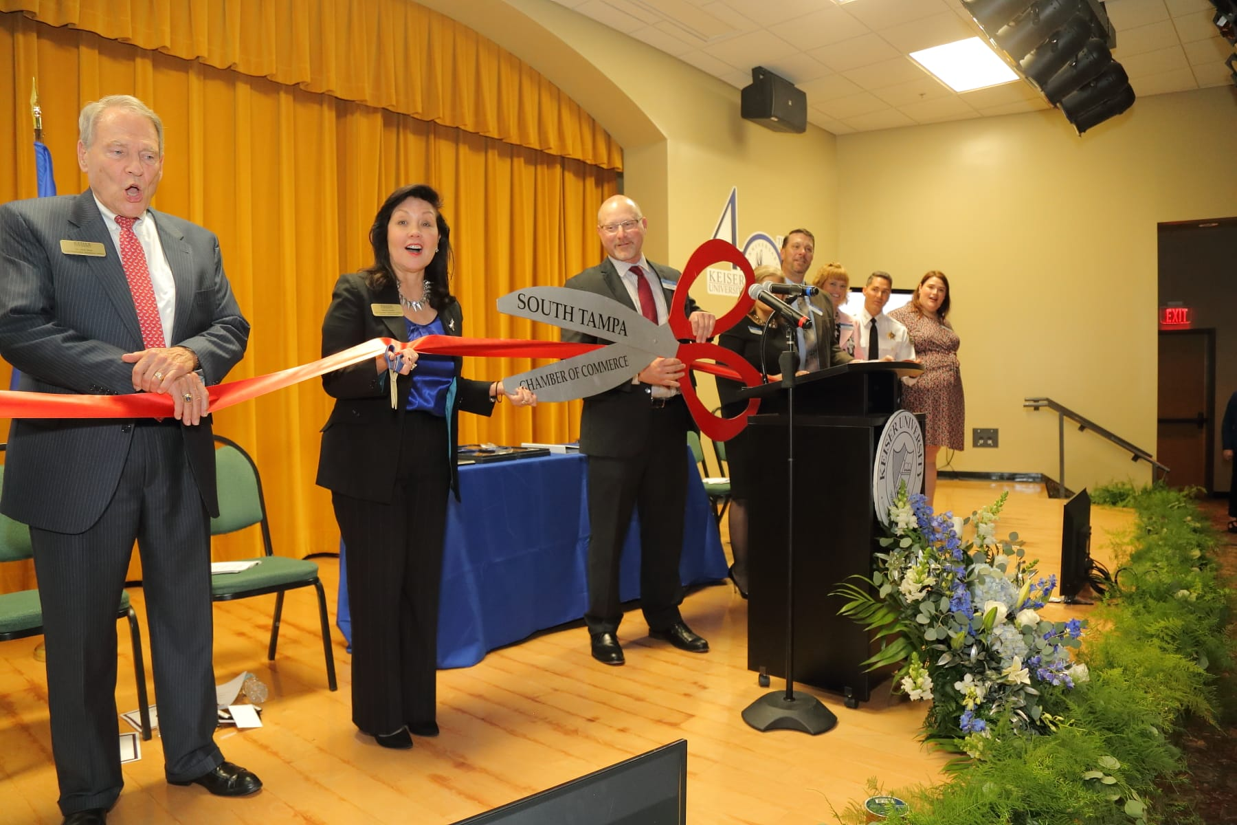 KU's Tampa, New Port Richey and Clearwater Campuses Enjoy 40th Anniversary Celebration