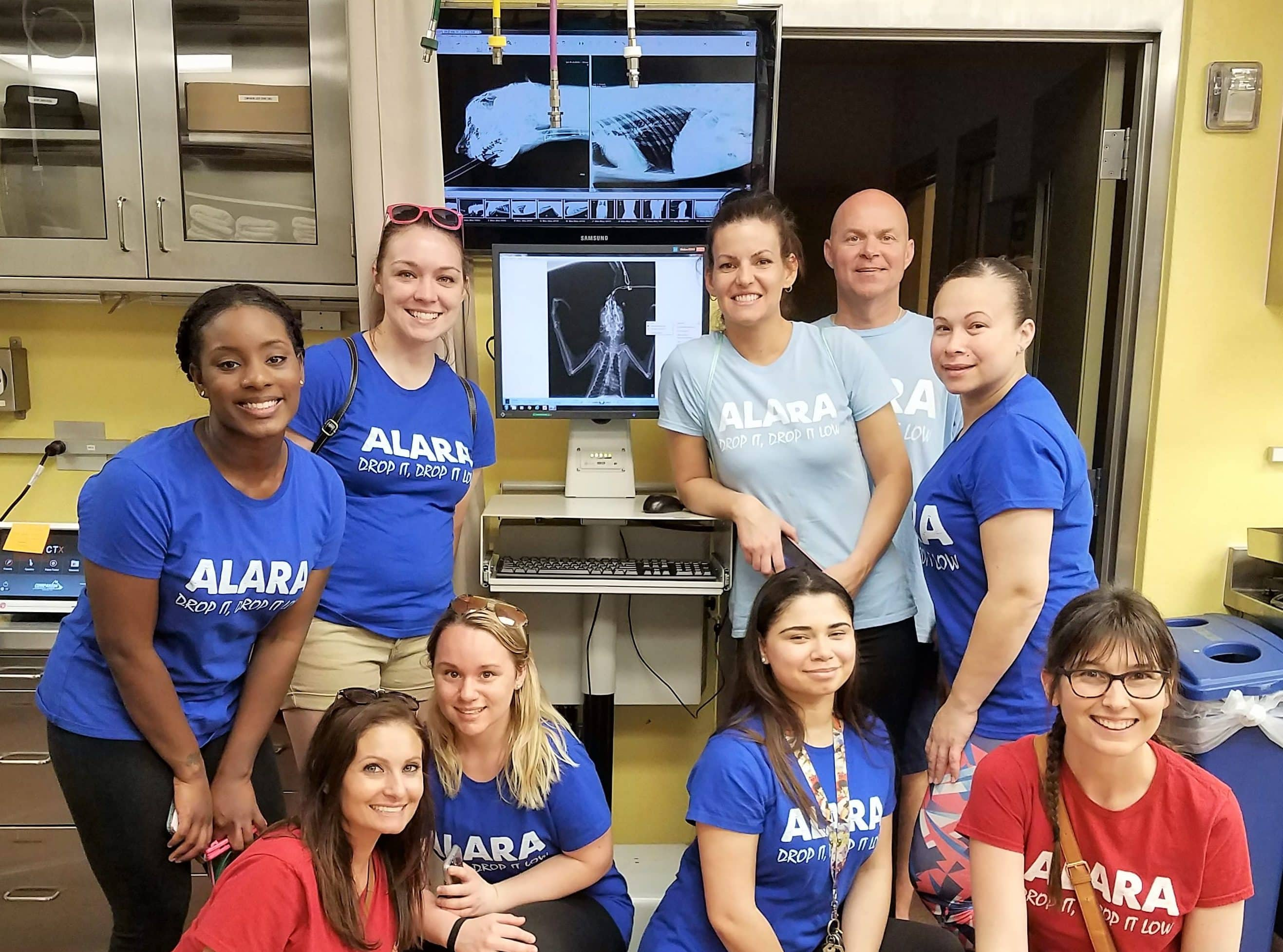 Radiologic Tech Students Learn About Zoological X-rays on Field Trip