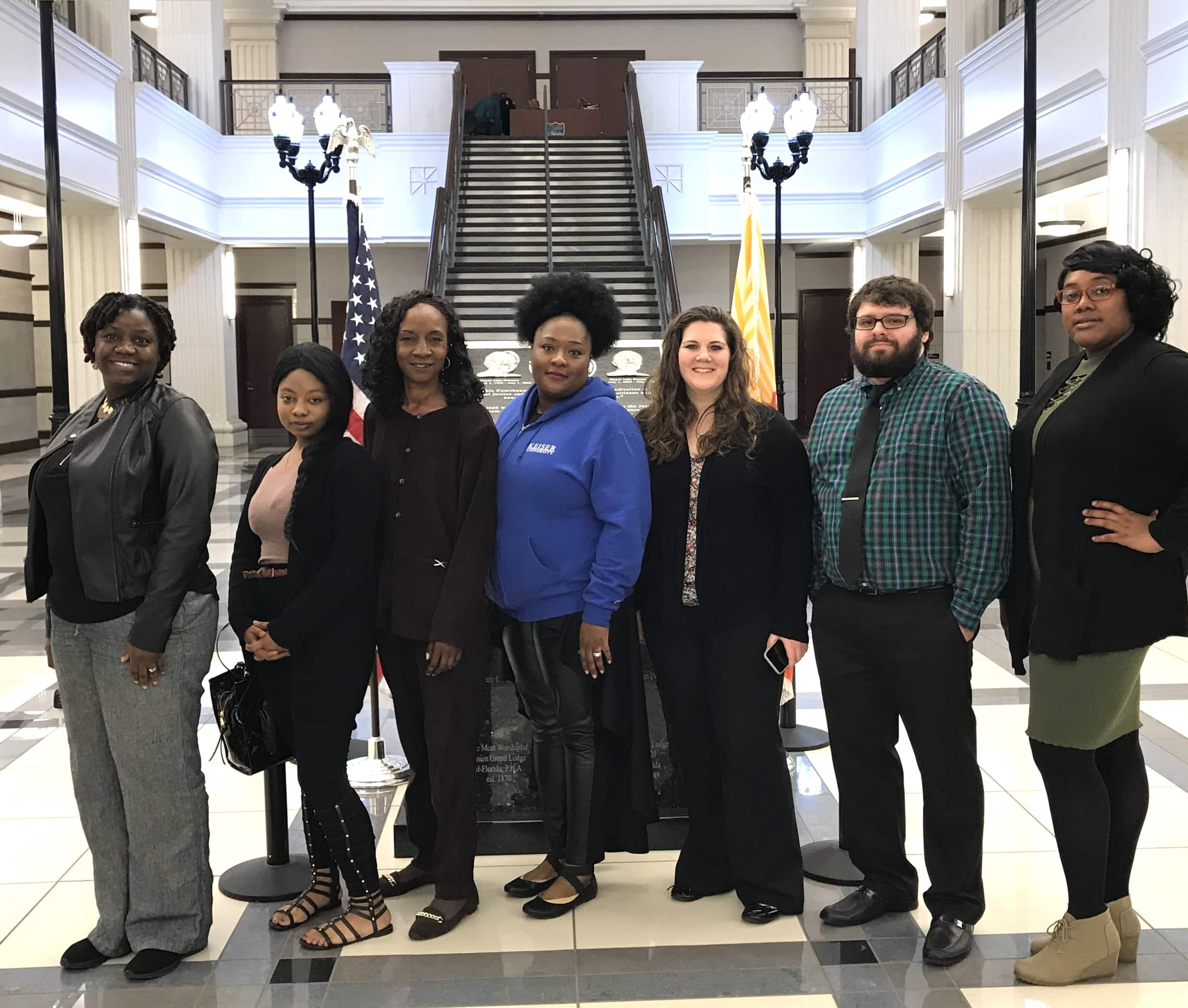 Forensic Students Visit Courthouse During Homicide Sentencing