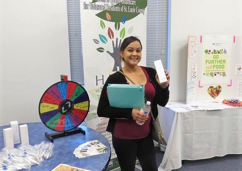 KU-Port St. Lucie Campus Hosts Nutrition Fair