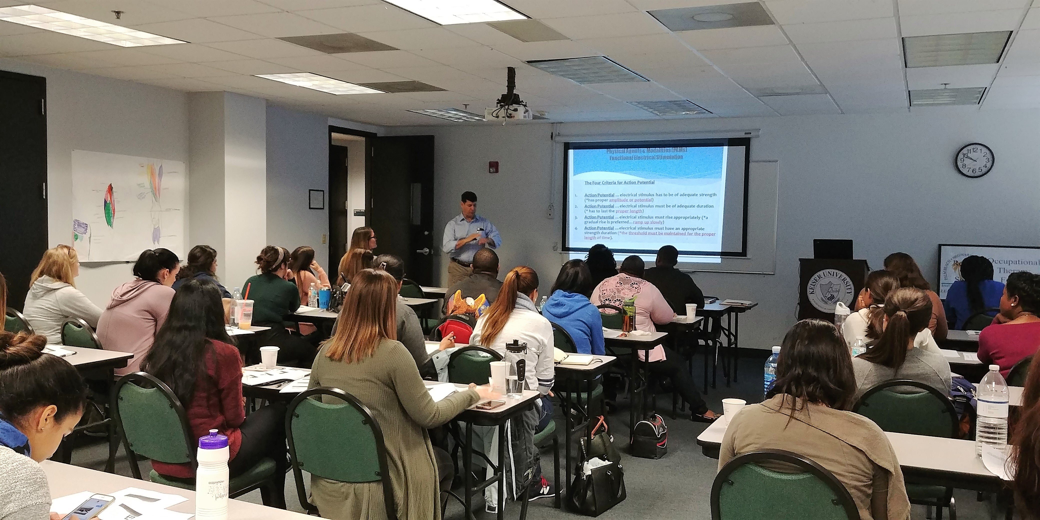 KU-Fort Lauderdale Hosts Occupational Therapy Workshop