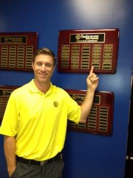 John Breedlove, College of Golf Gross Match Play Champion 2018