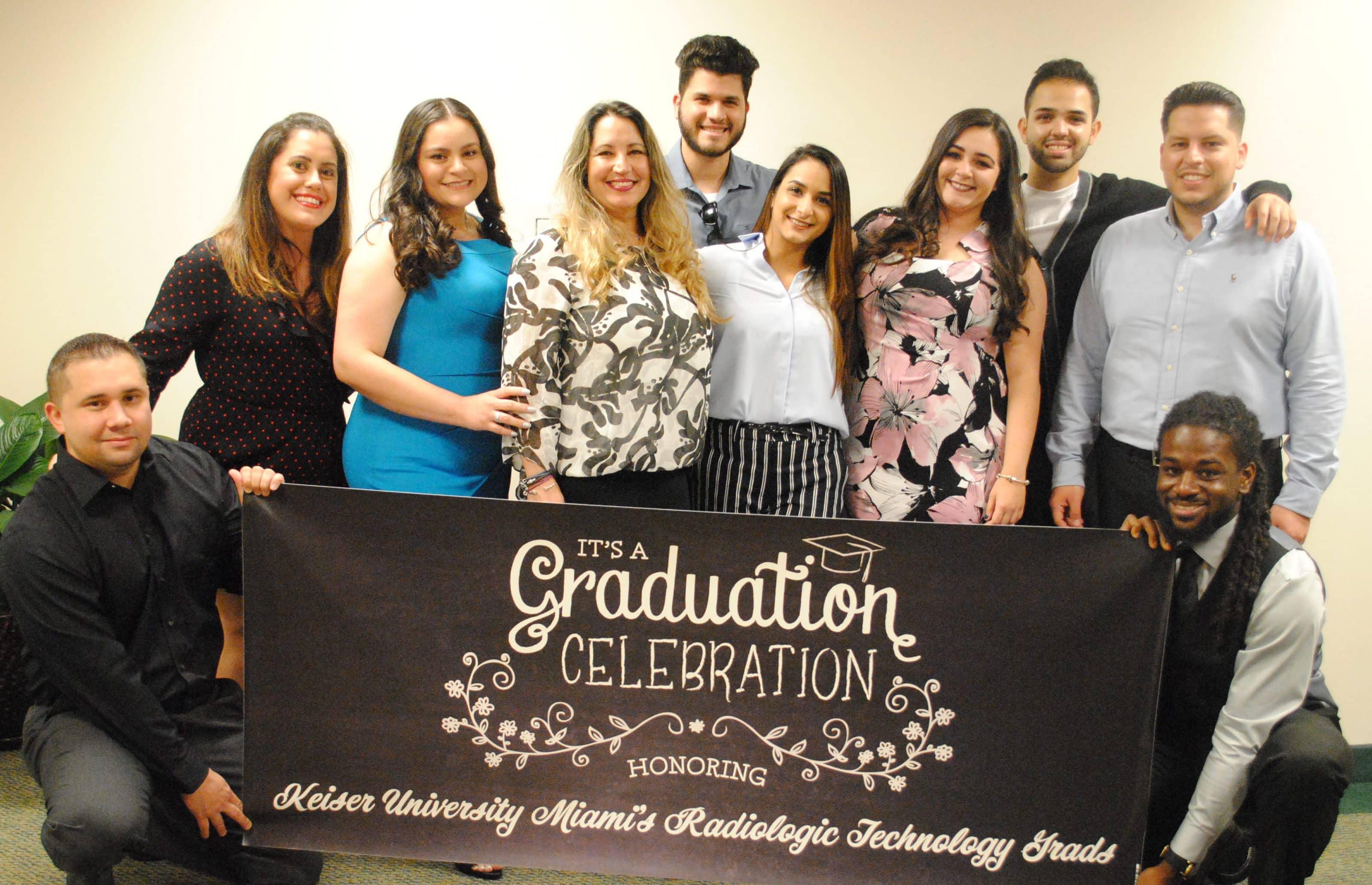 KU-Miami Ceremony Celebrates Radiologic Tech Grads