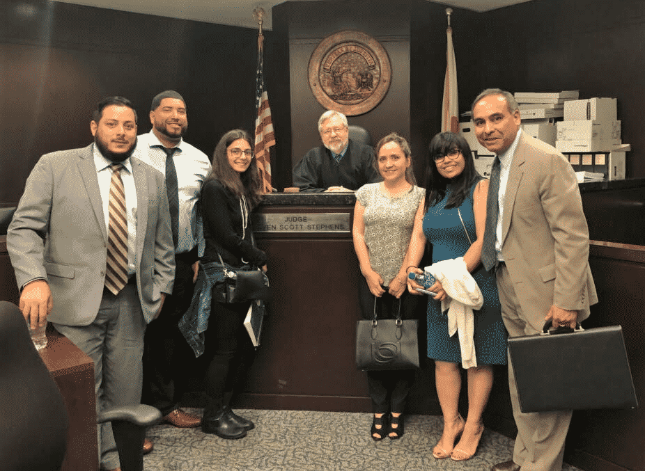 Tampa Business Law Students Visit County Courthouse