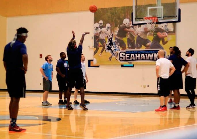 Flagship Campus Students take on Faculty/Staff Team in Popular Annual Basketball Game
