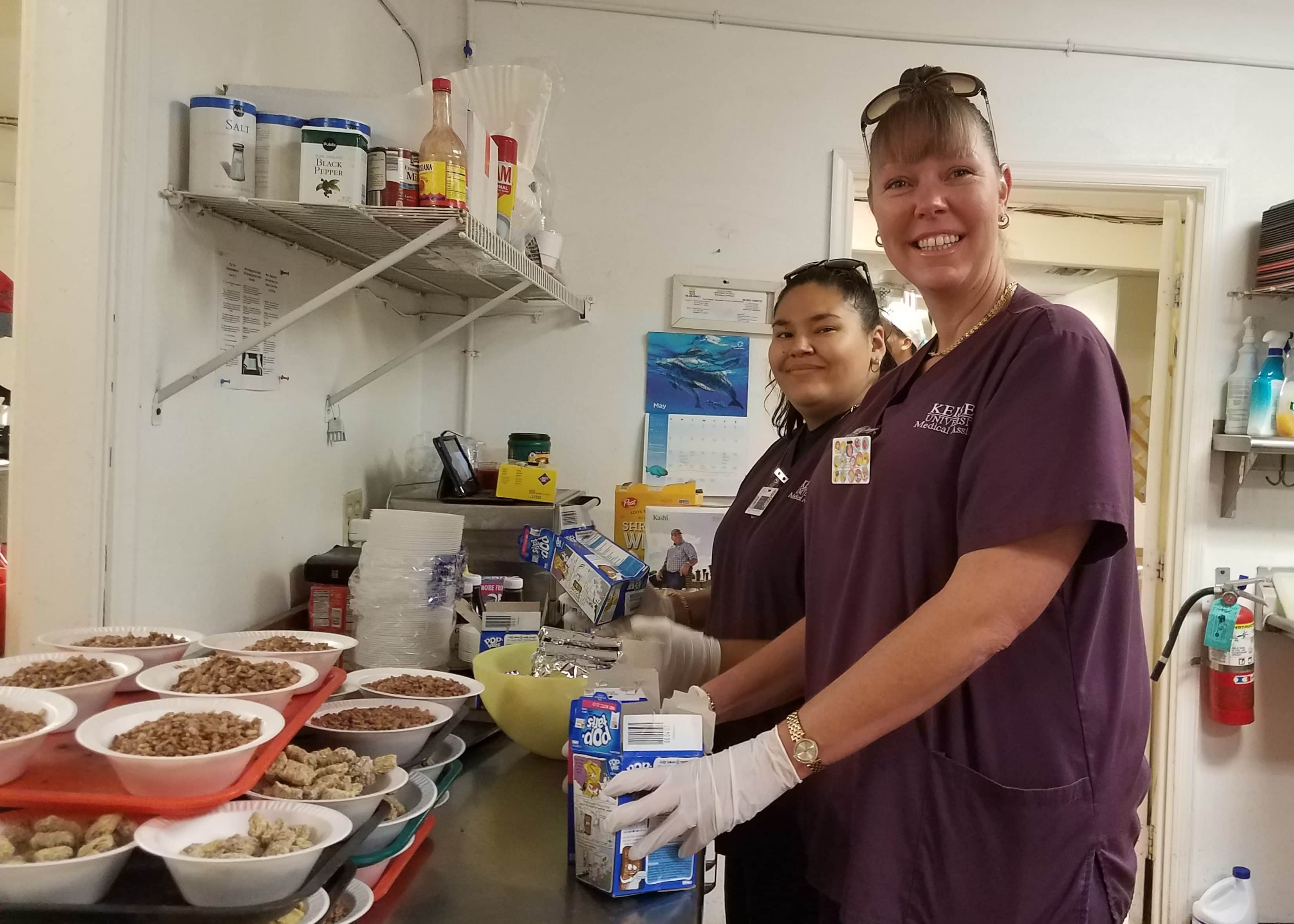 KU-Sarasota Medical Assistant Students Visit Homeless Resource Center