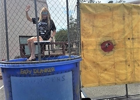 Tallahassee Campus Beats the Heat with Dunk Tank at Open House