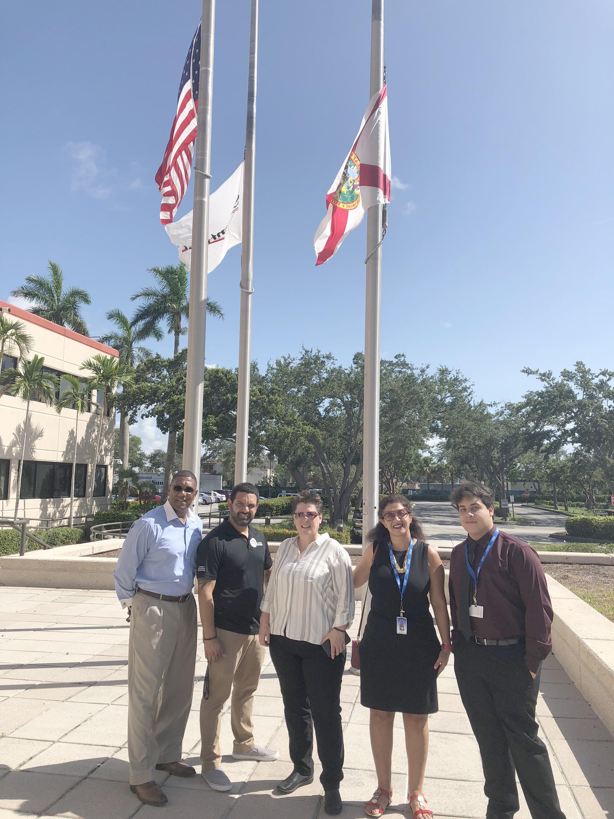 KU Pembroke Pines Campus Students Enjoy Tour of the Sun-Sentinel