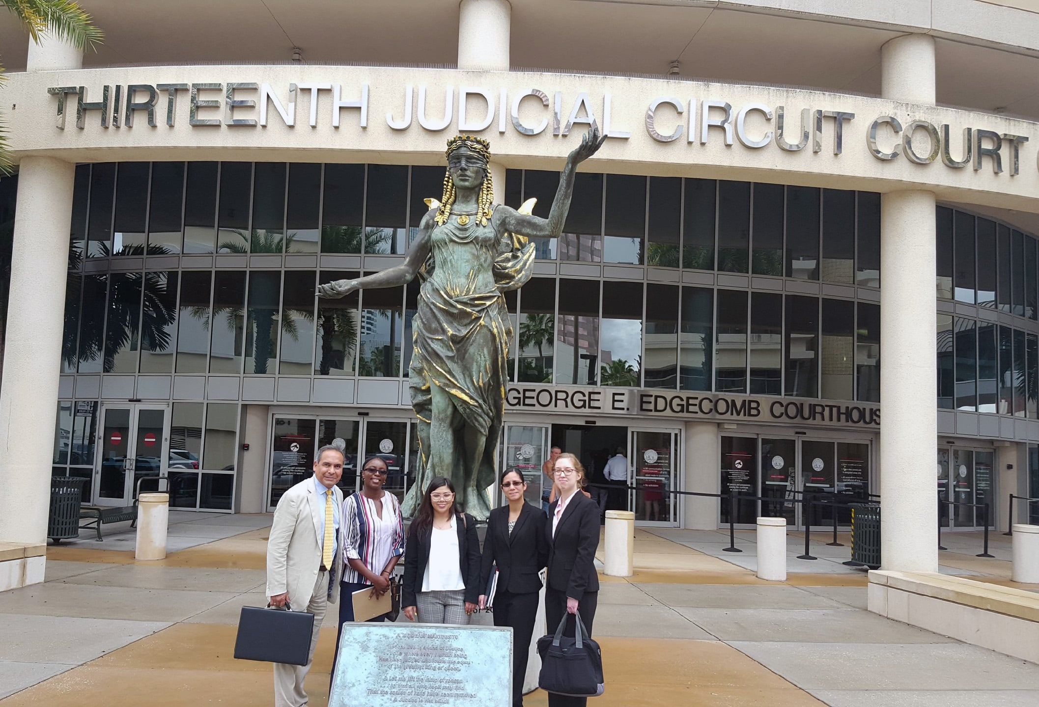 Murder Trial Observation Provides Tampa Legal Studies Students First-Hand Insight