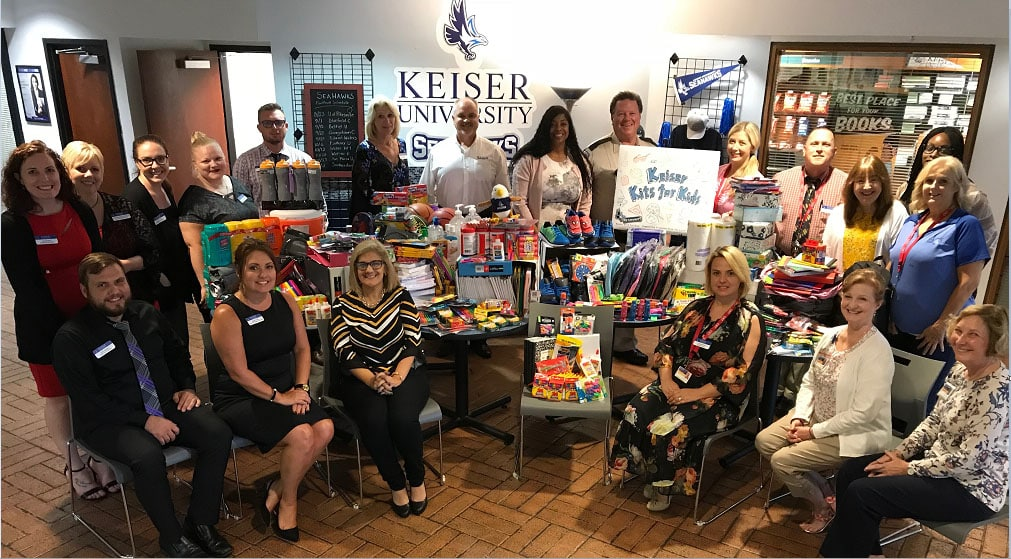 Keiser Kits for Kids School Supply Drive Welcomes Donations