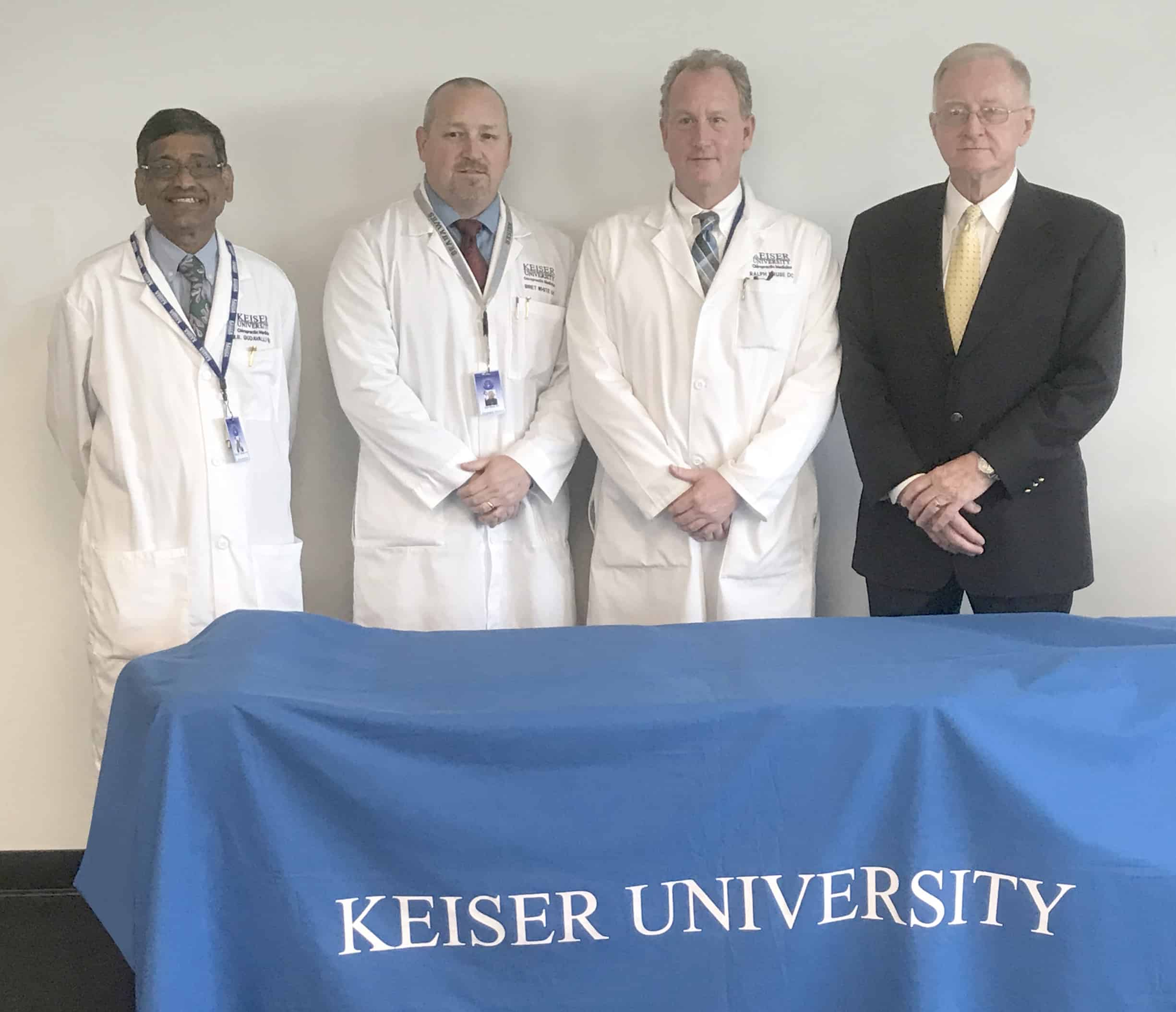KU's College of Chiropractic Medicine Welcomes Renowned Expert