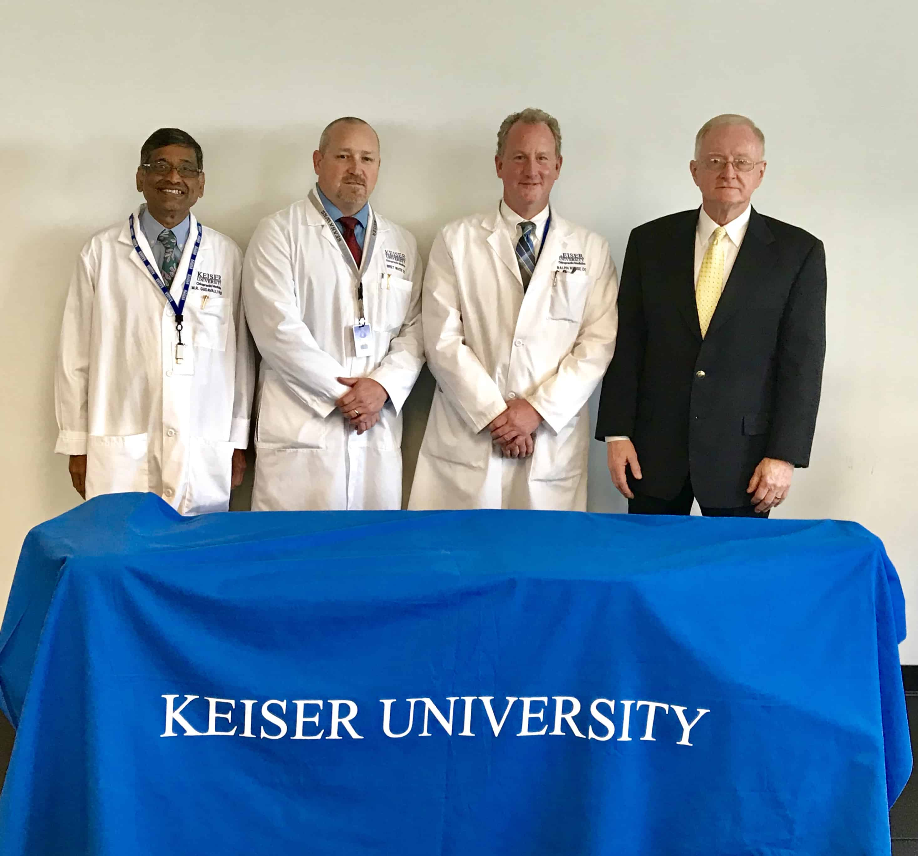 Keiser University's College of Chiropractic Medicine Receives $41K Donation