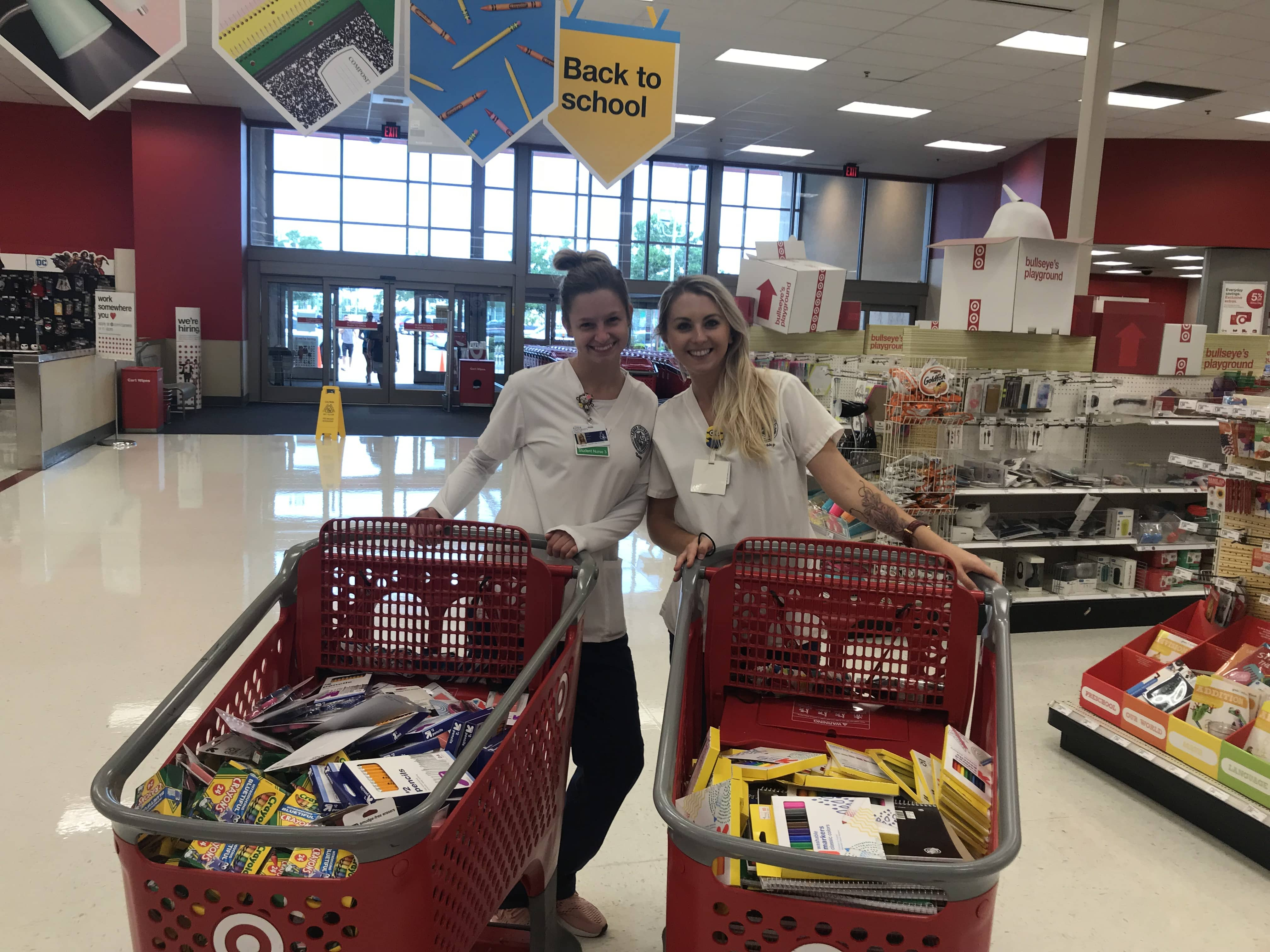 KU Sarasota Campus' Keiser Kits for Kids School Supply Drive Benefits Local Students