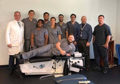 College of Chiropractic Medicine Students Gain Hands-On Experience Using the Cox8 Table