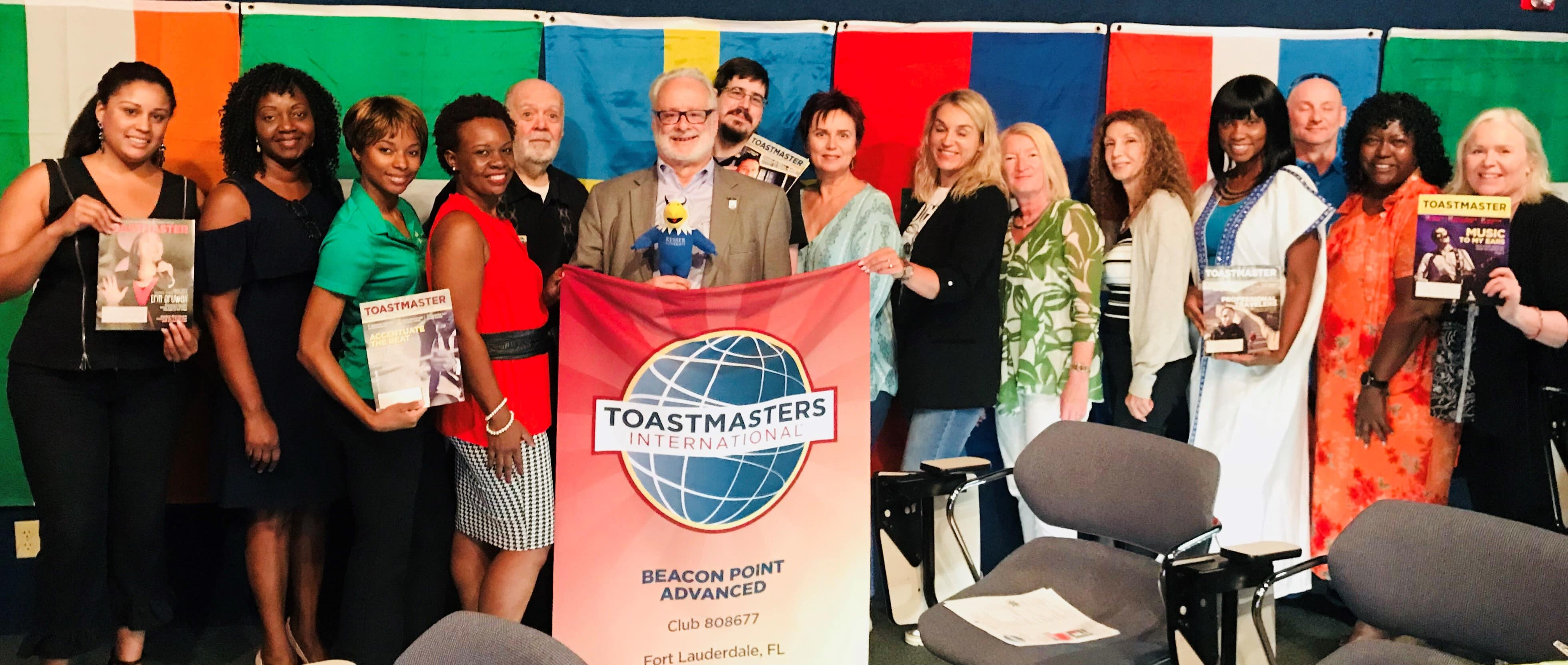 KU's Fort Lauderdale Campus Hosts Toastmasters Event