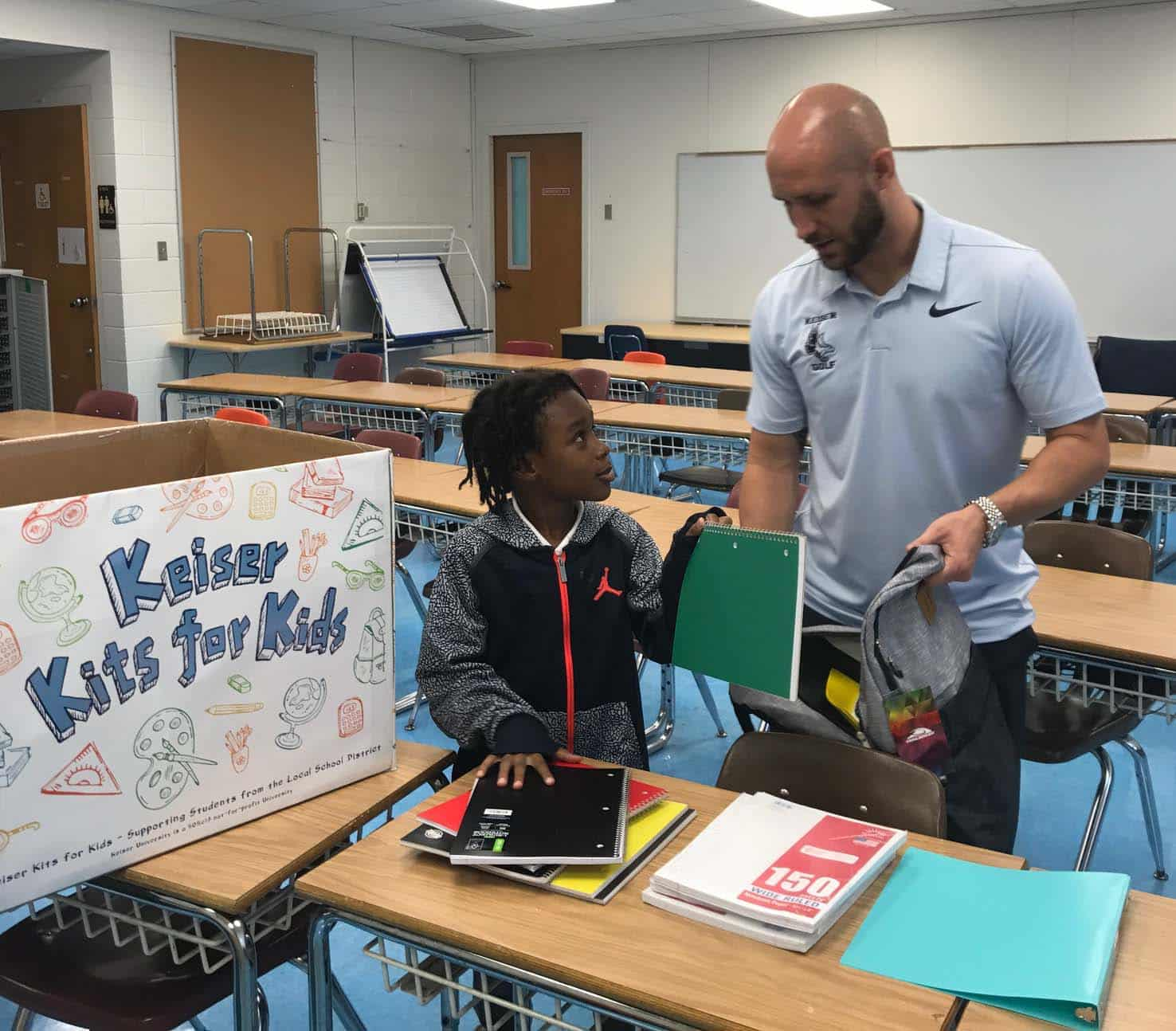 Flagship Campus' Keiser Kits for Kids Benefits Local Elementary School
