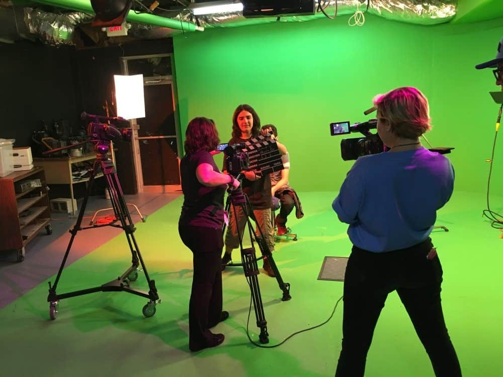 KU Students Enjoy Producing Commercial Relating to Cinematic Arts Program
