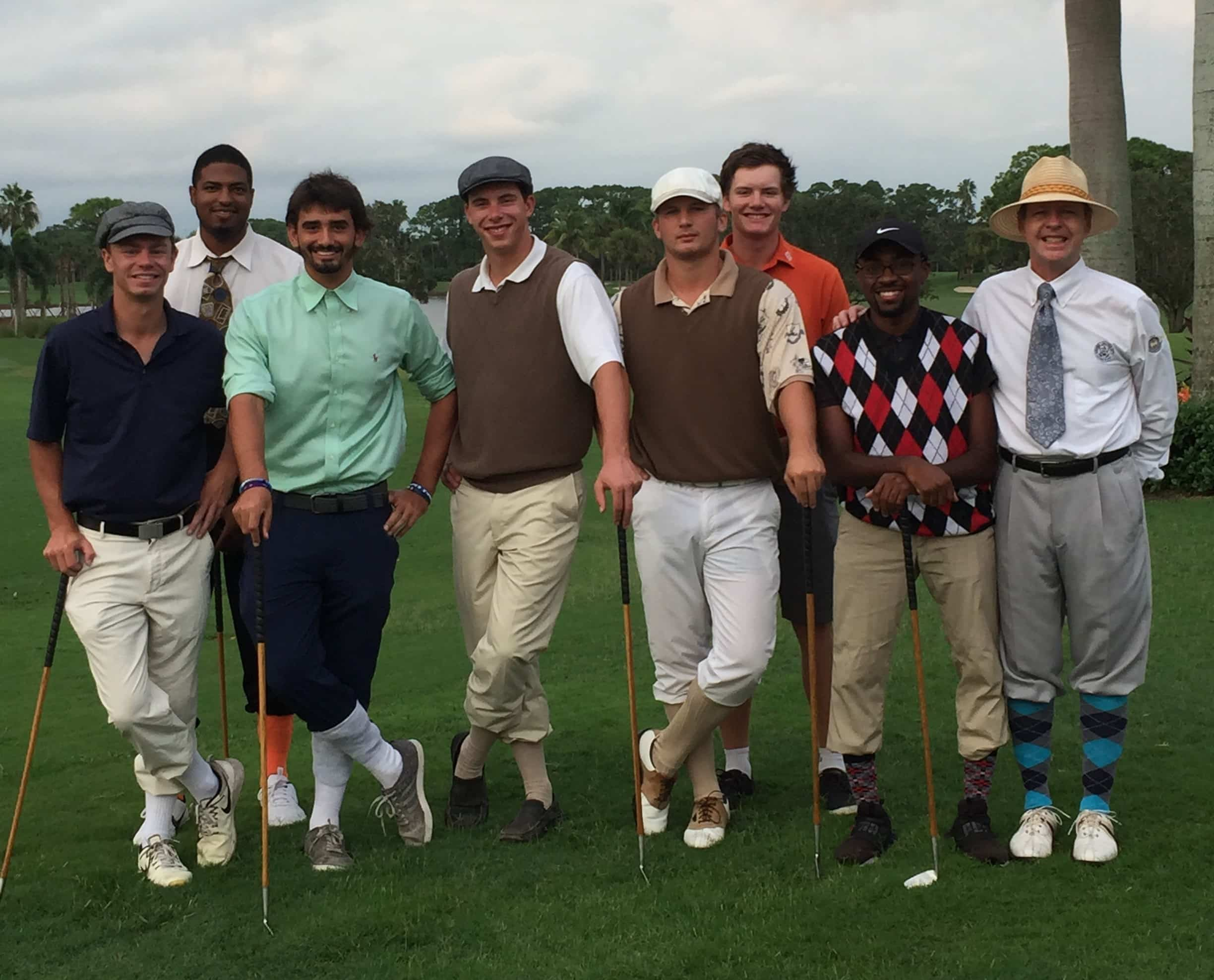 Keiser University College of Golf Students Enjoy Hickory Golf Lesson