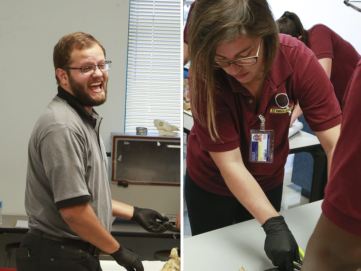 Lakeland Campus Forensic Anatomy Students Gain Hands-On Experience